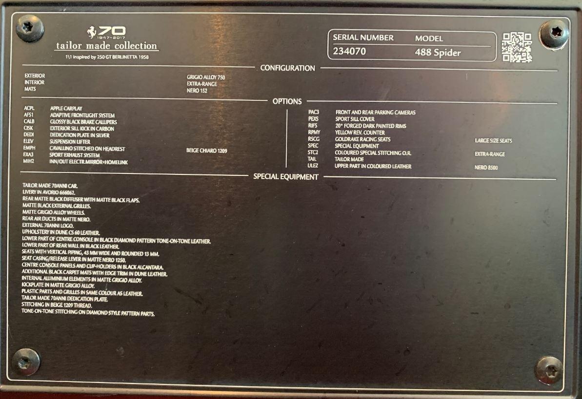 Used 2018 Ferrari 488 Spider  For Sale In Westport, CT 3168_p33