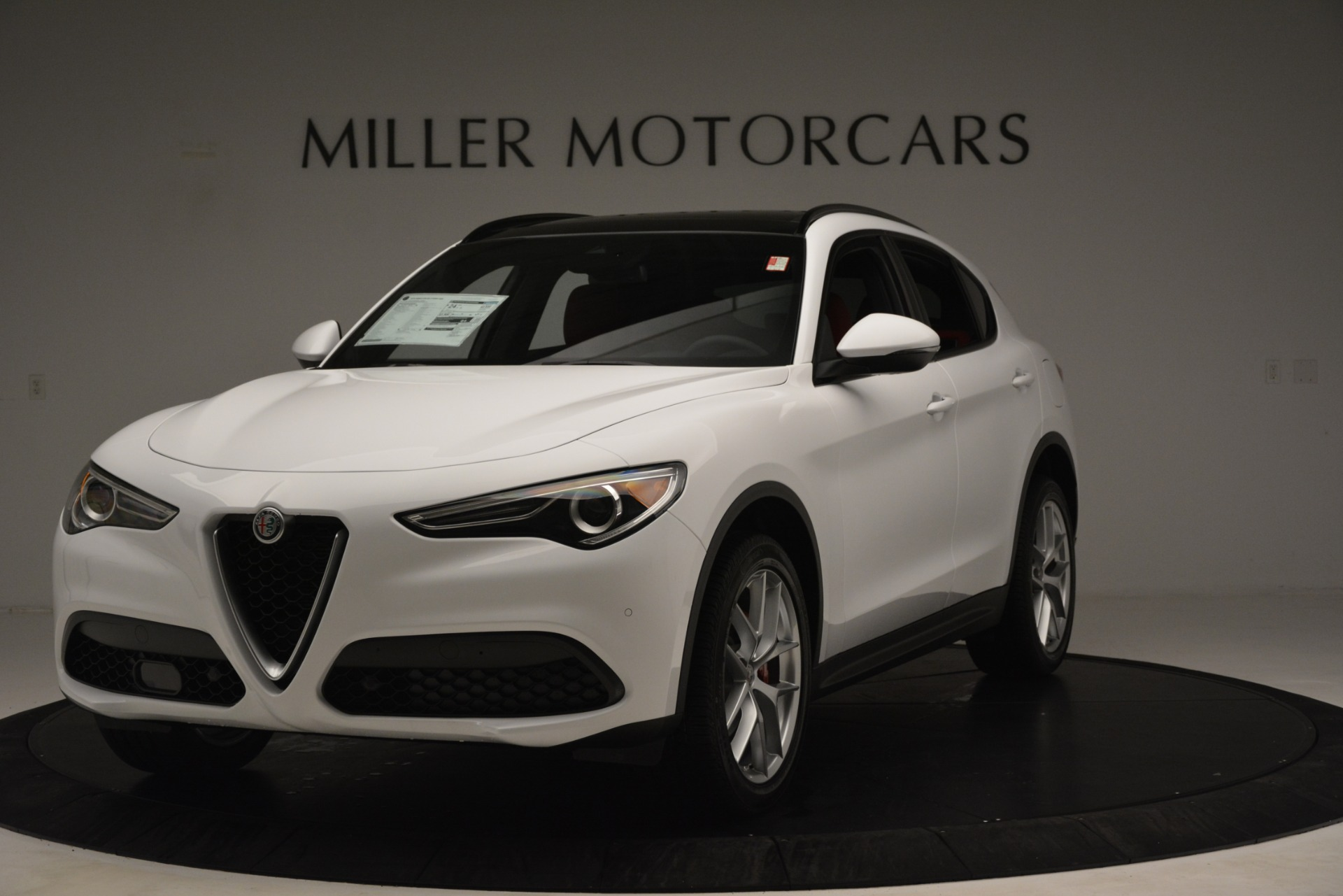 New 2019 Alfa Romeo Stelvio Ti Sport Q4 For Sale In Westport, CT 3173_main