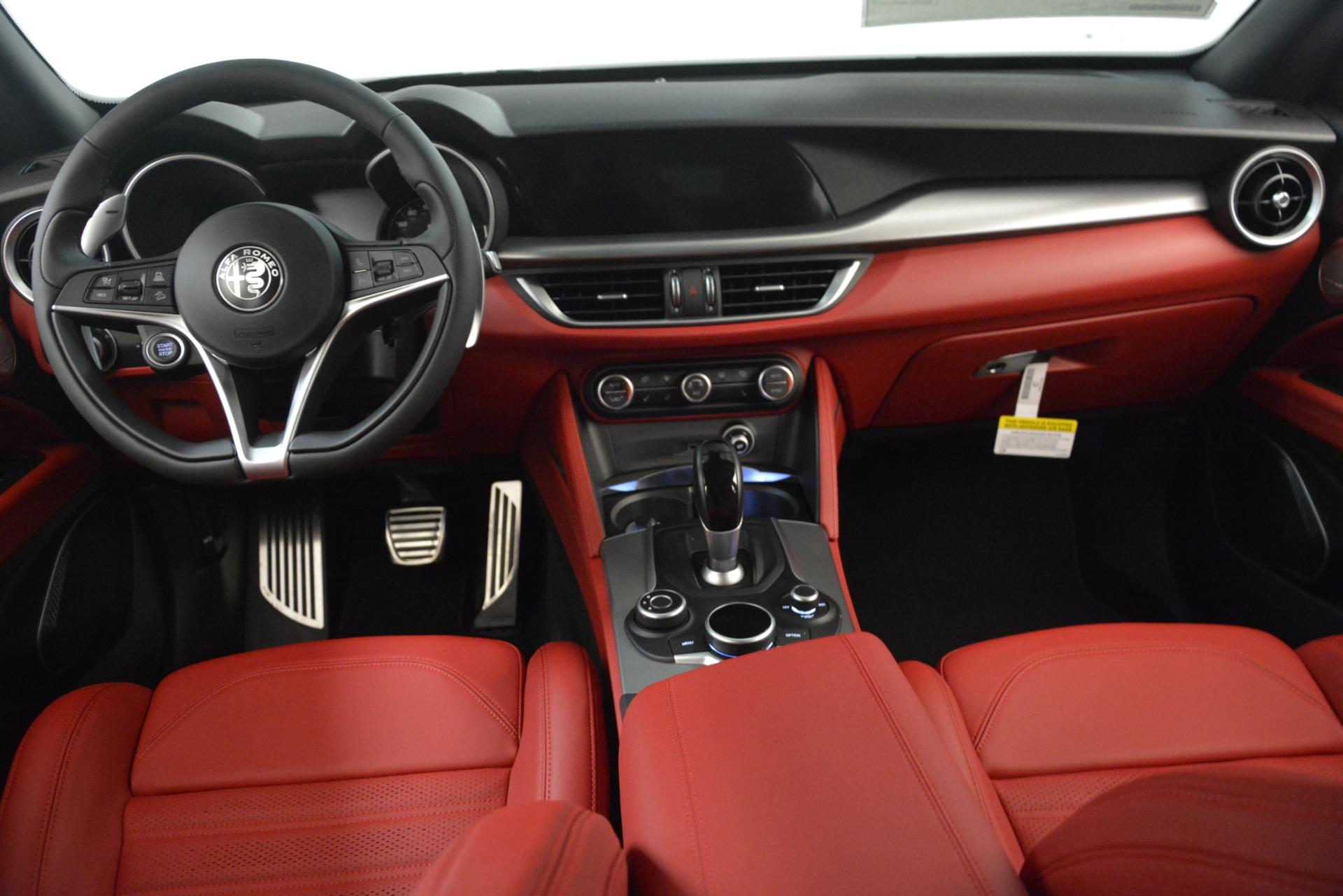 New 2019 Alfa Romeo Stelvio Ti Sport Q4 For Sale In Westport, CT 3173_p14