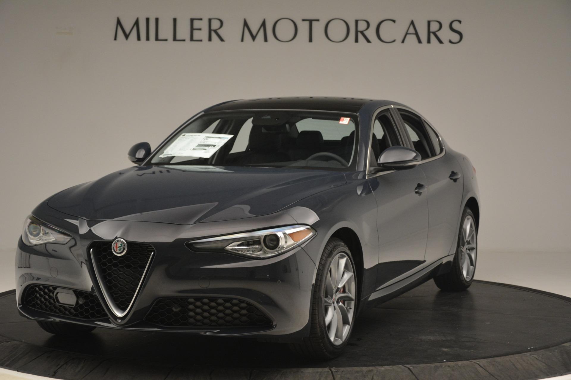 New 2019 Alfa Romeo Giulia Q4 For Sale In Westport, CT 3174_main