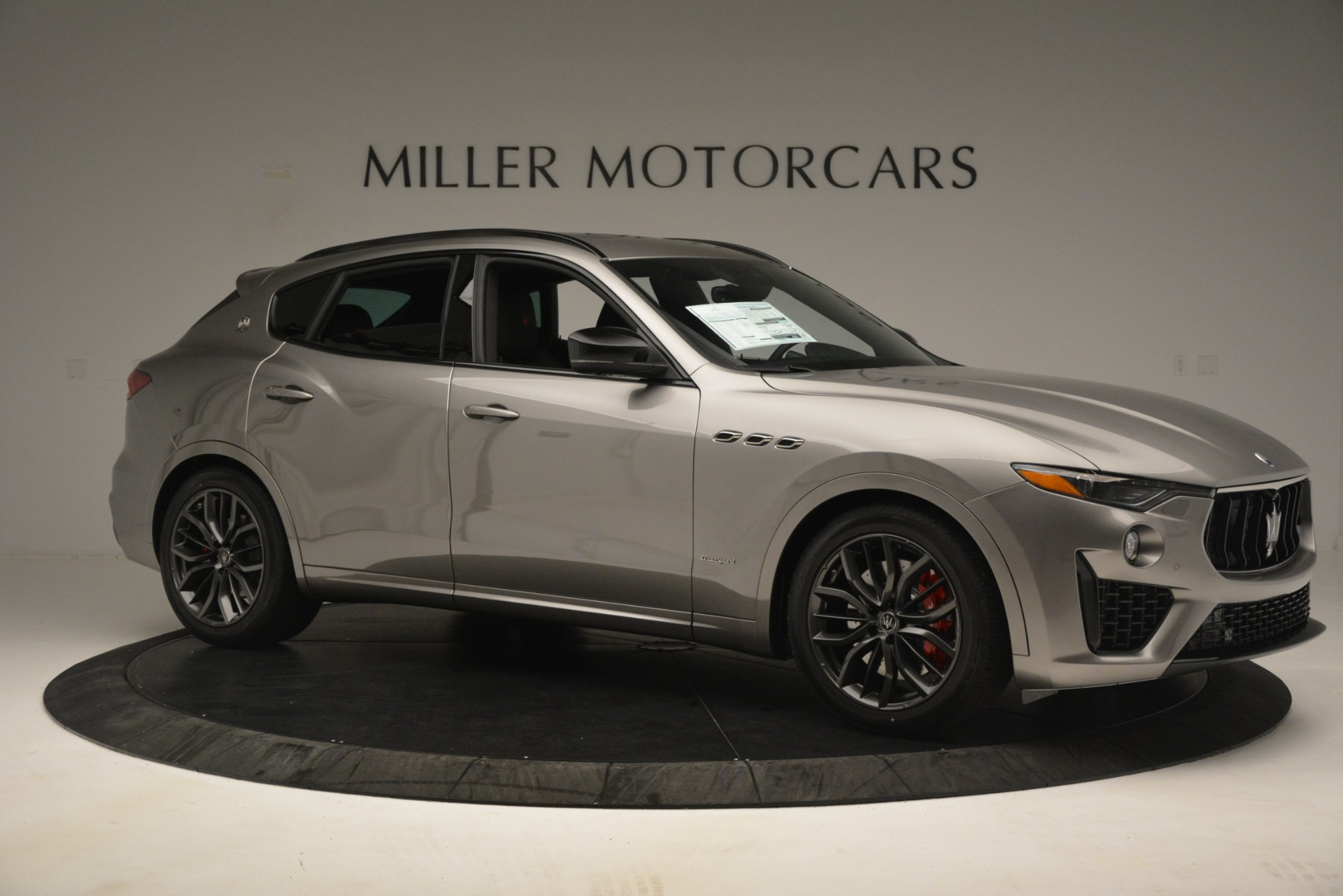 New 2019 Maserati Levante SQ4 GranSport Nerissimo For Sale In Westport, CT 3177_p10
