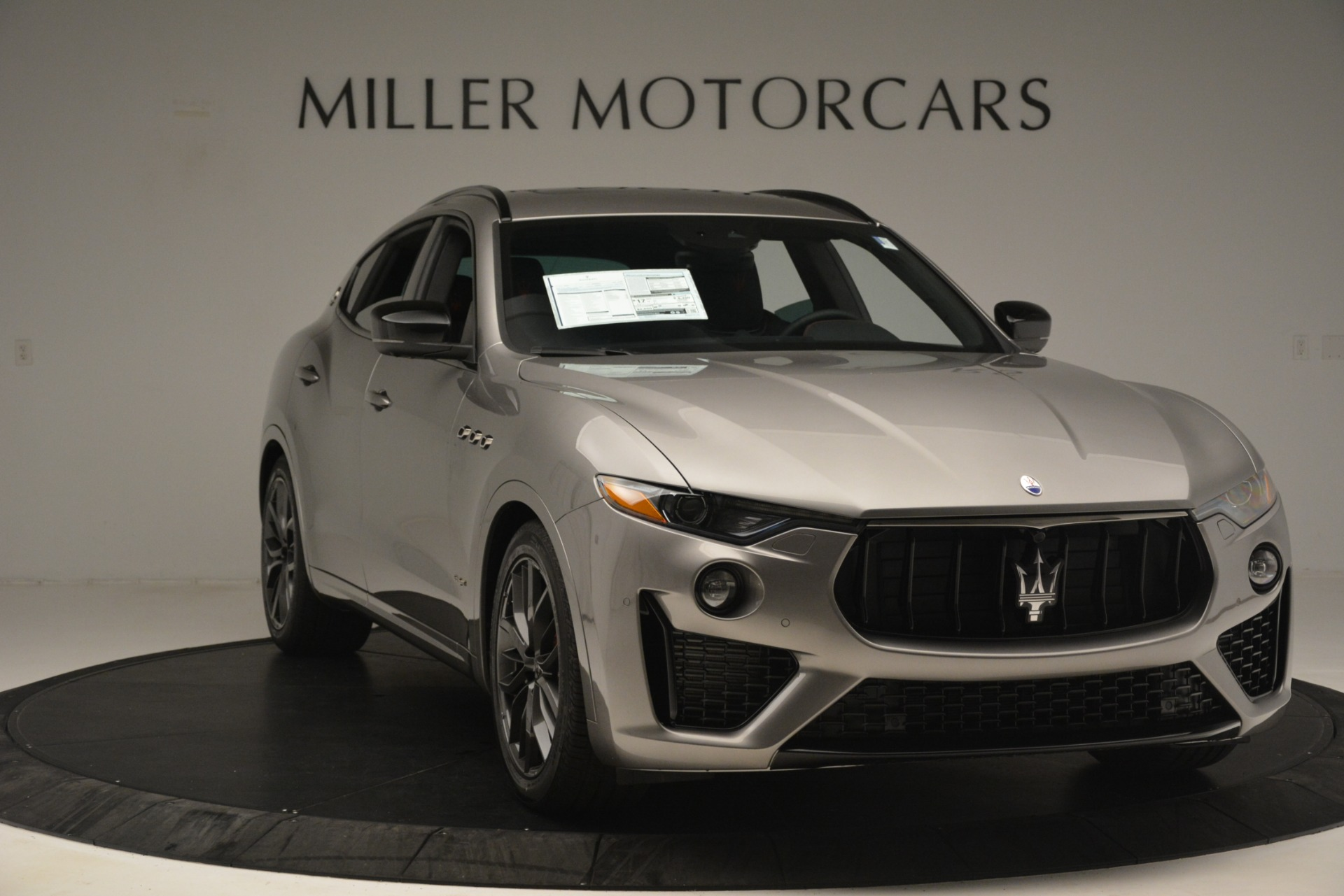 New 2019 Maserati Levante SQ4 GranSport Nerissimo For Sale In Westport, CT 3177_p11