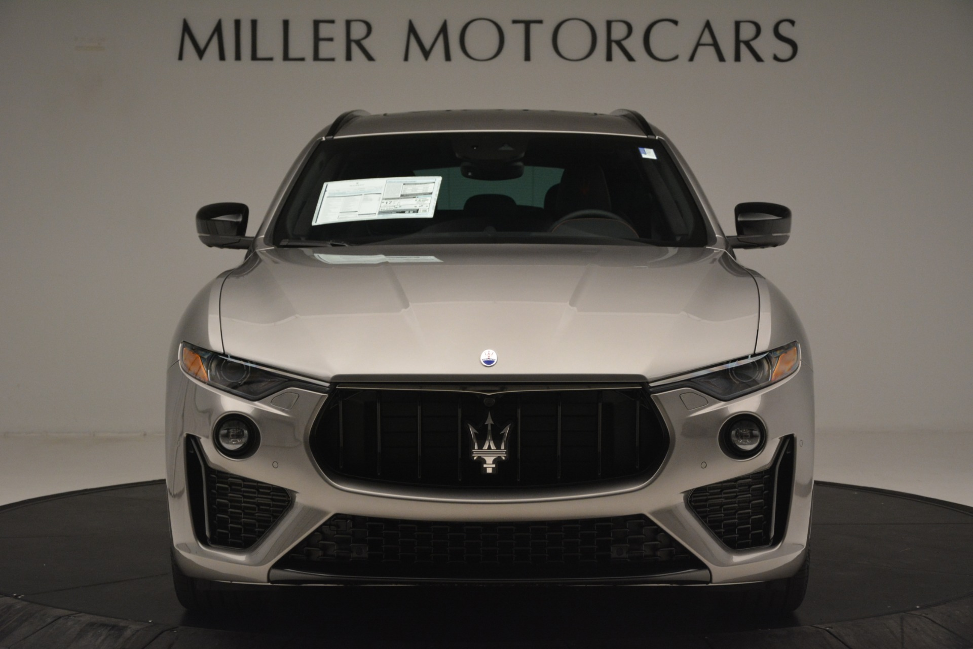 New 2019 Maserati Levante SQ4 GranSport Nerissimo For Sale In Westport, CT 3177_p12