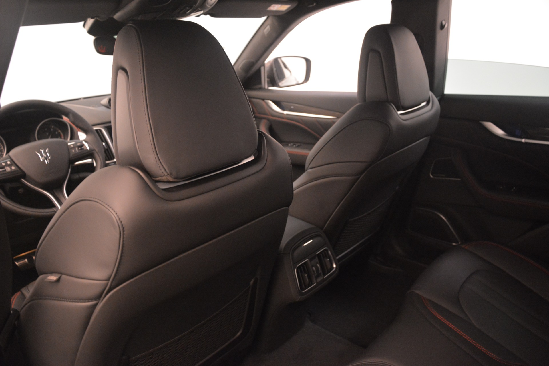 New 2019 Maserati Levante SQ4 GranSport Nerissimo For Sale In Westport, CT 3177_p18