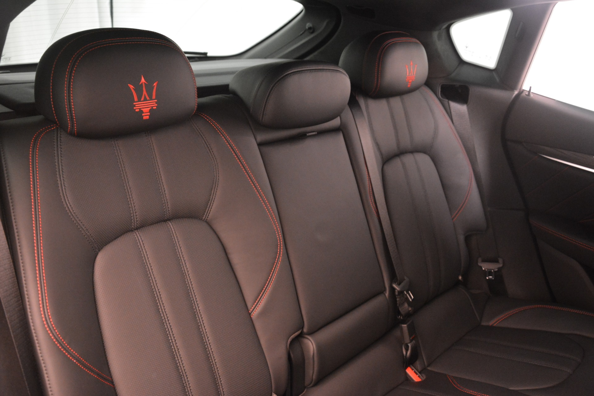 New 2019 Maserati Levante SQ4 GranSport Nerissimo For Sale In Westport, CT 3177_p26