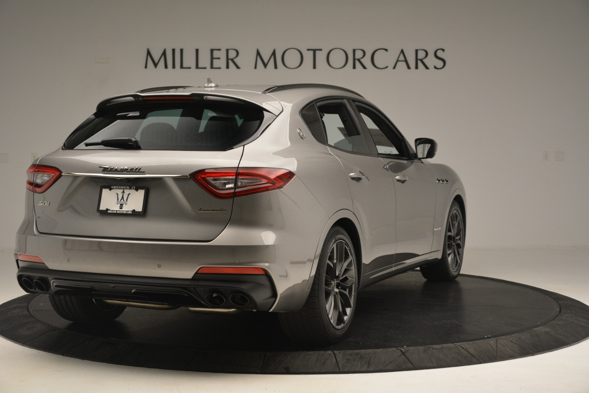 New 2019 Maserati Levante SQ4 GranSport Nerissimo For Sale In Westport, CT 3177_p7