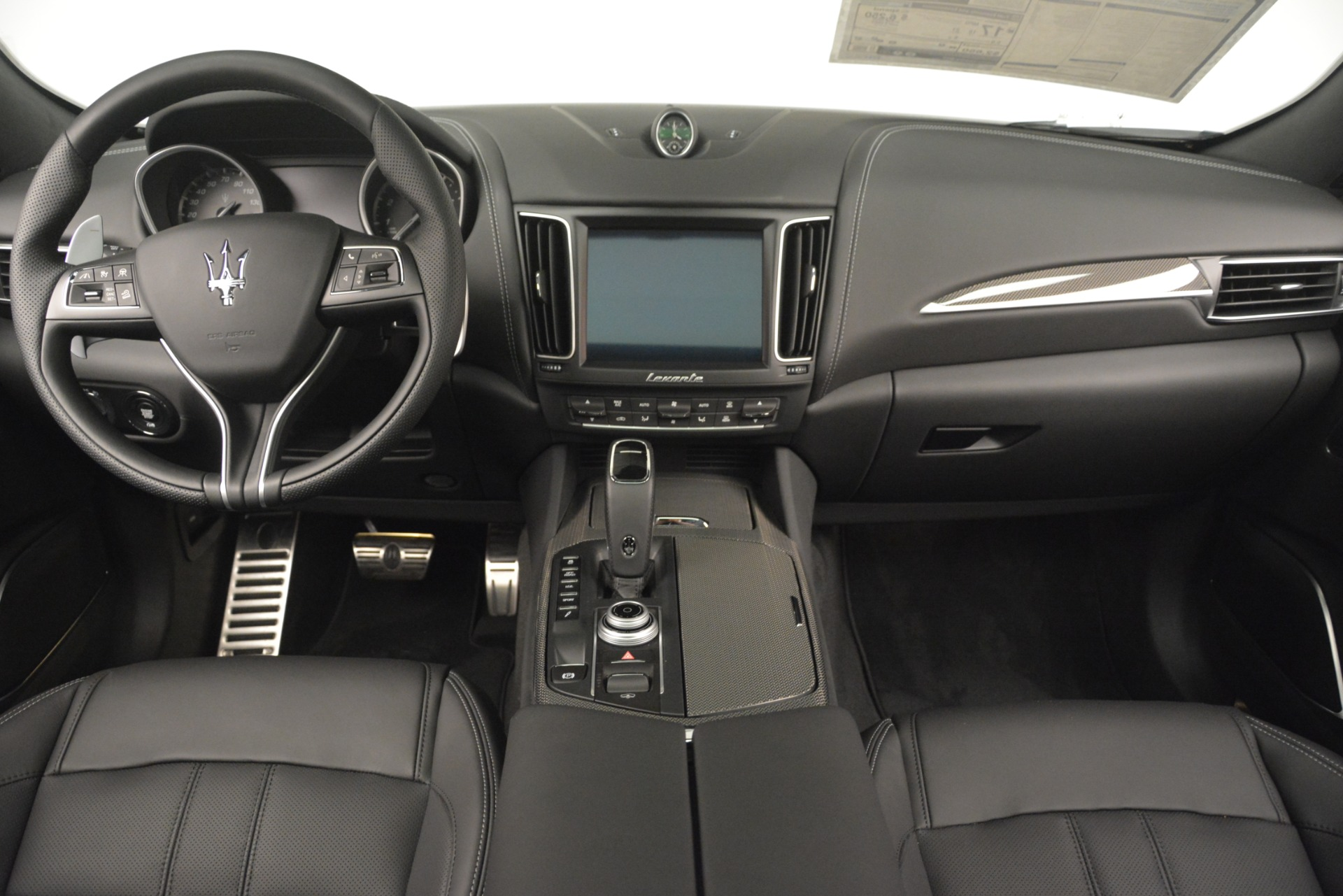 New 2019 Maserati Levante SQ4 GranSport Nerissimo For Sale In Westport, CT 3178_p16