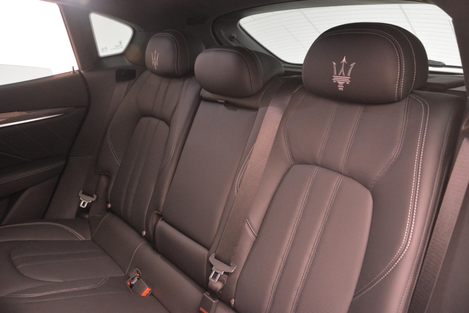 New 2019 Maserati Levante SQ4 GranSport Nerissimo For Sale In Westport, CT 3178_p18