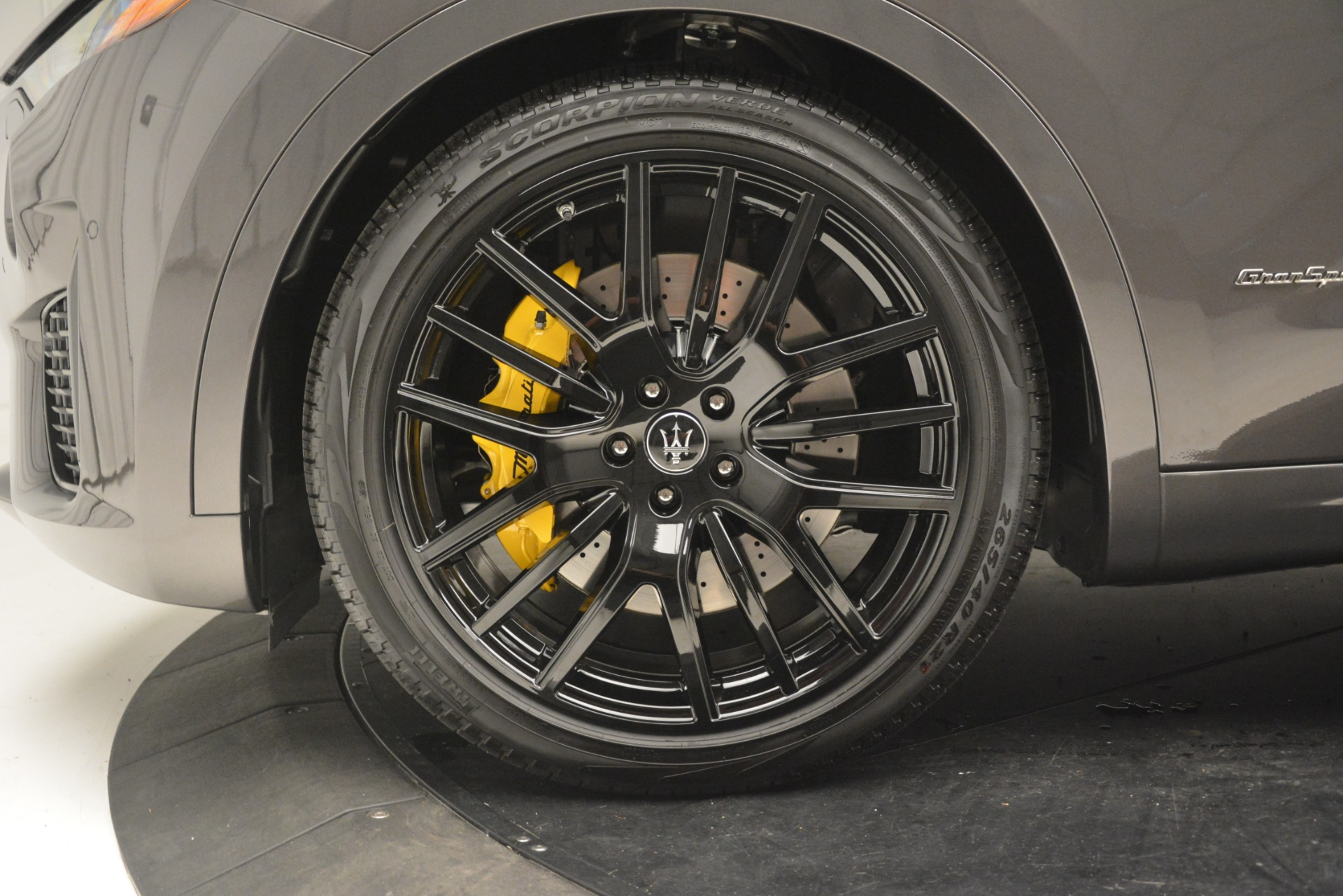 New 2019 Maserati Levante SQ4 GranSport Nerissimo For Sale In Westport, CT 3178_p31