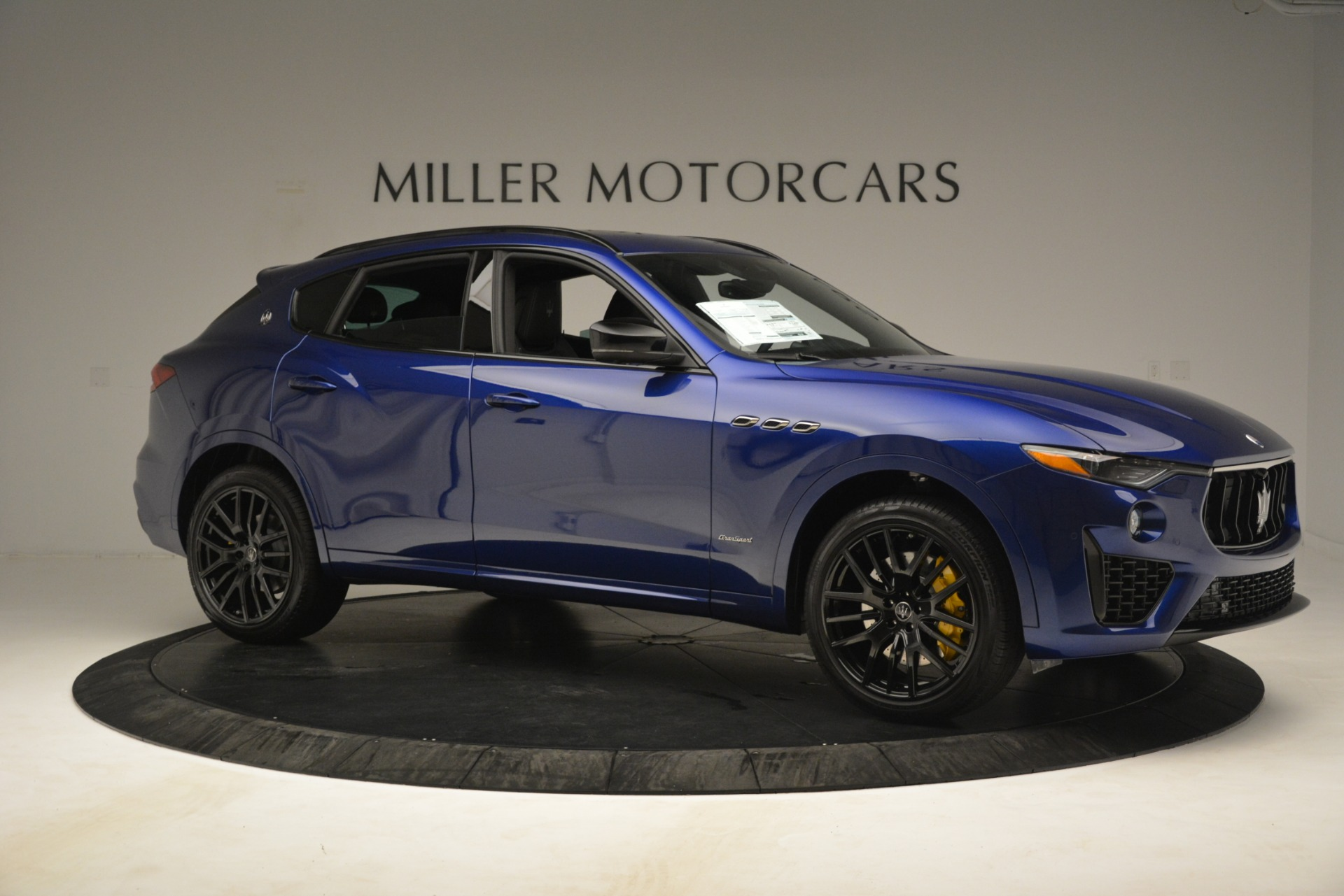 New 2019 Maserati Levante SQ4 GranSport Nerissimo For Sale In Westport, CT 3179_p10