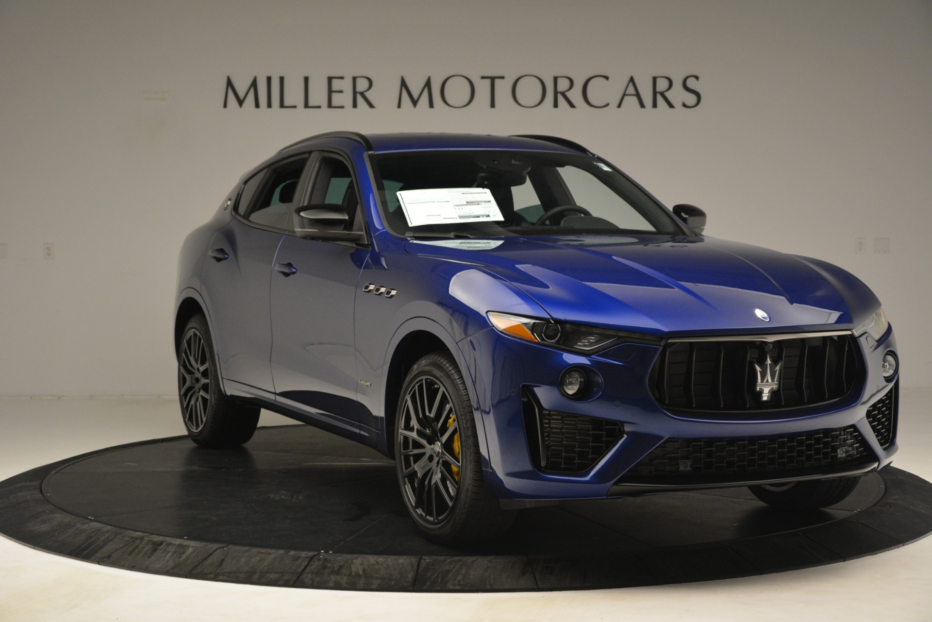 New 2019 Maserati Levante SQ4 GranSport Nerissimo For Sale In Westport, CT 3179_p11