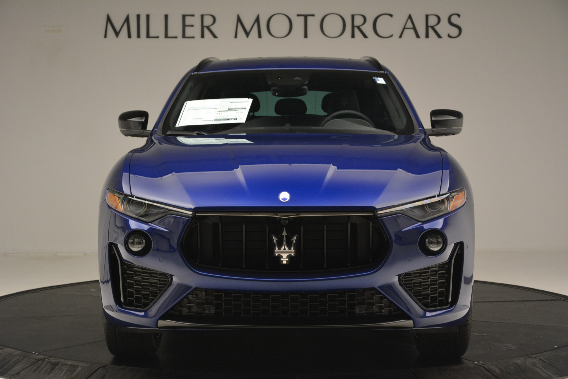 New 2019 Maserati Levante SQ4 GranSport Nerissimo For Sale In Westport, CT 3179_p12
