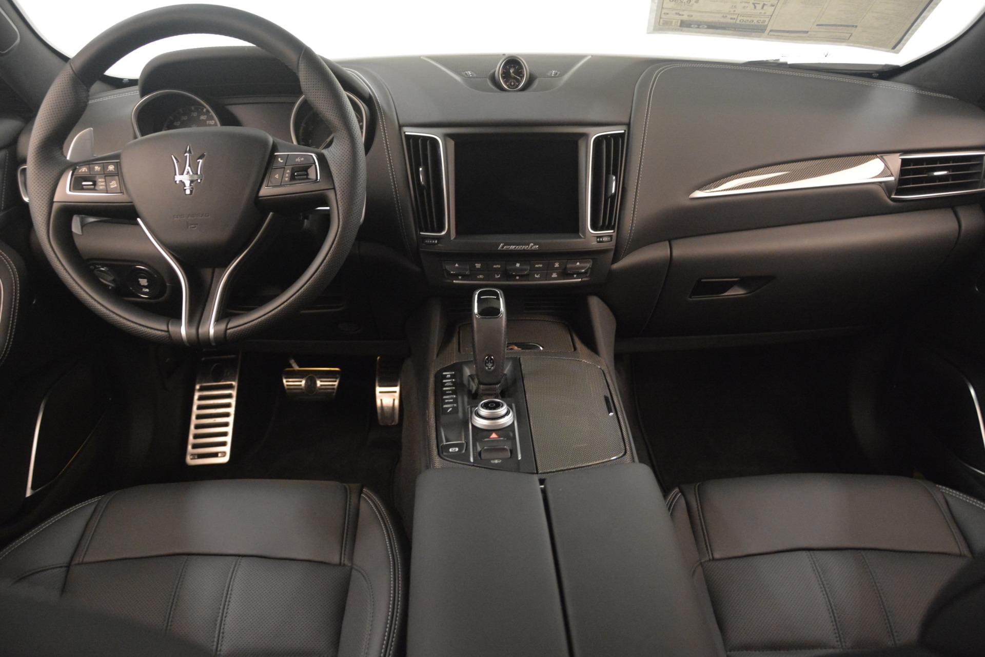New 2019 Maserati Levante SQ4 GranSport Nerissimo For Sale In Westport, CT 3179_p16