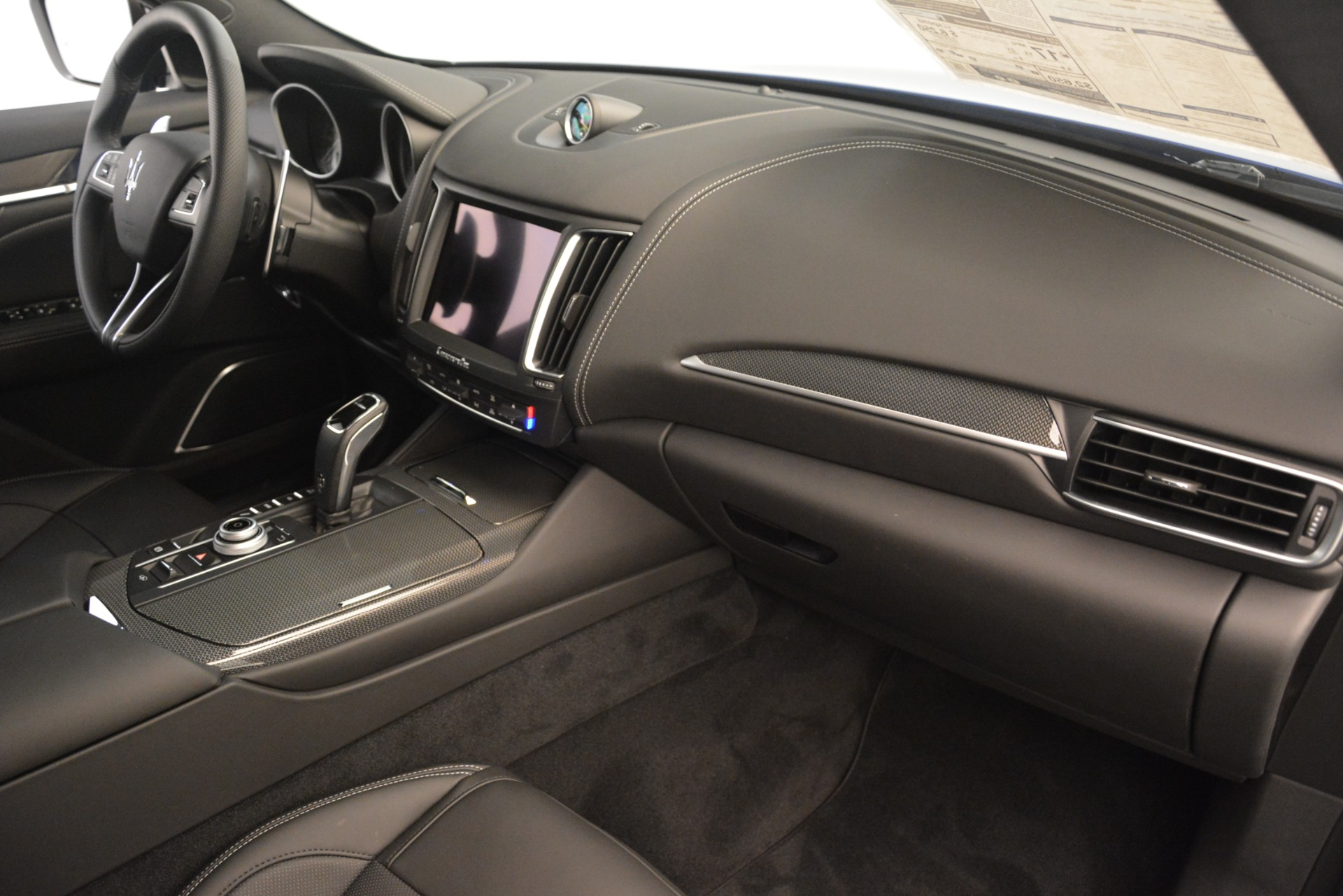 New 2019 Maserati Levante SQ4 GranSport Nerissimo For Sale In Westport, CT 3179_p22