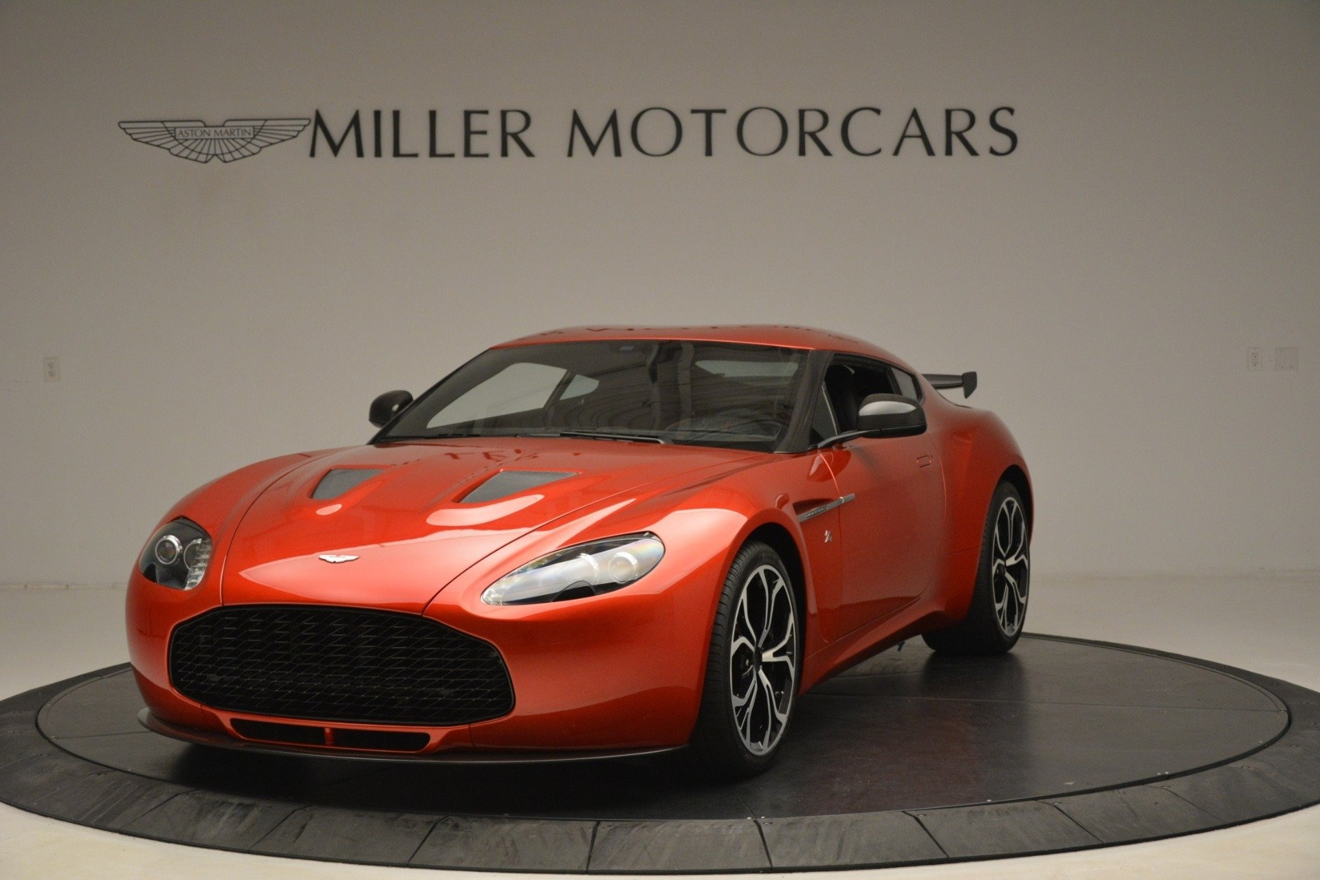 Used 2013 Aston Martin V12 Zagato Coupe For Sale In Westport, CT