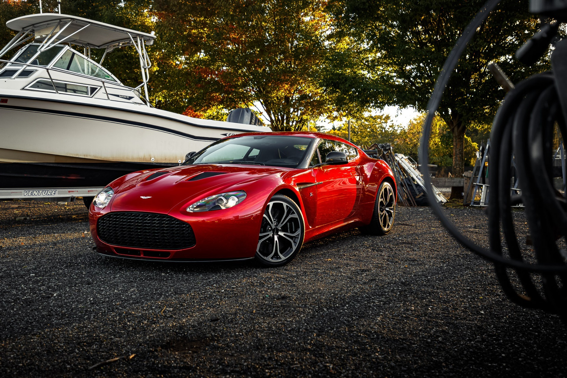 Used 2013 Aston Martin V12 Zagato Coupe For Sale In Westport, CT 3181_p30