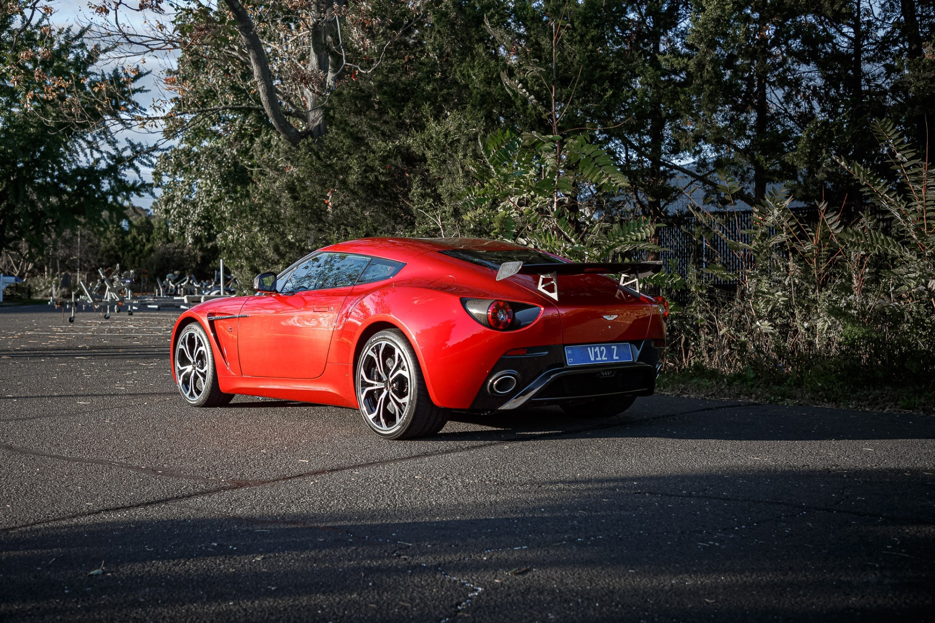 Used 2013 Aston Martin V12 Zagato Coupe For Sale In Westport, CT 3181_p34