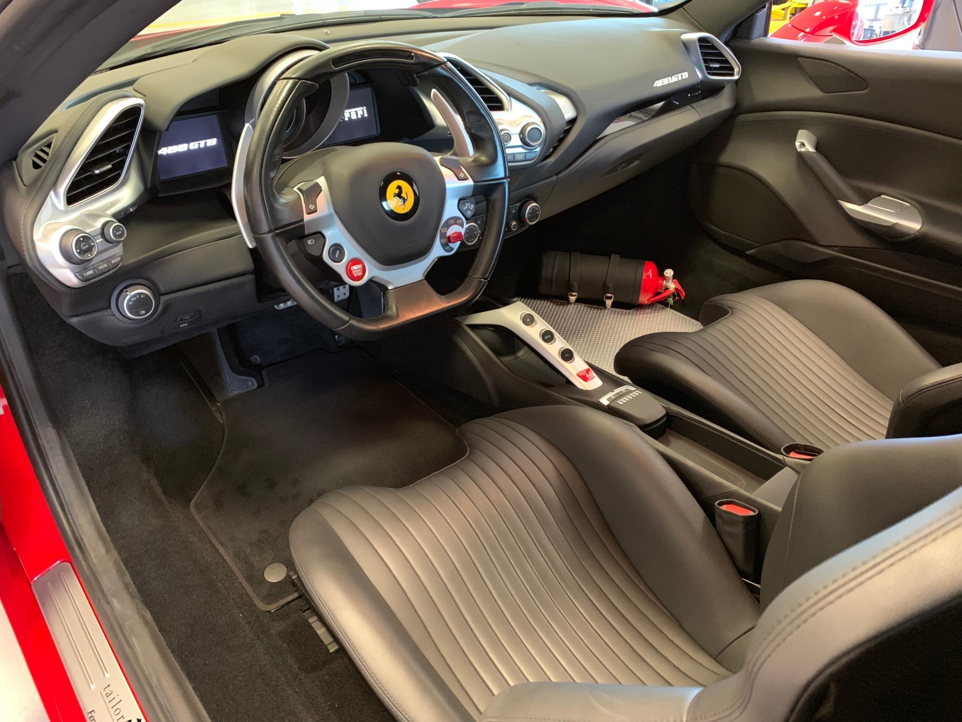 Used 2018 Ferrari 488 GTB  For Sale In Westport, CT 3185_p13