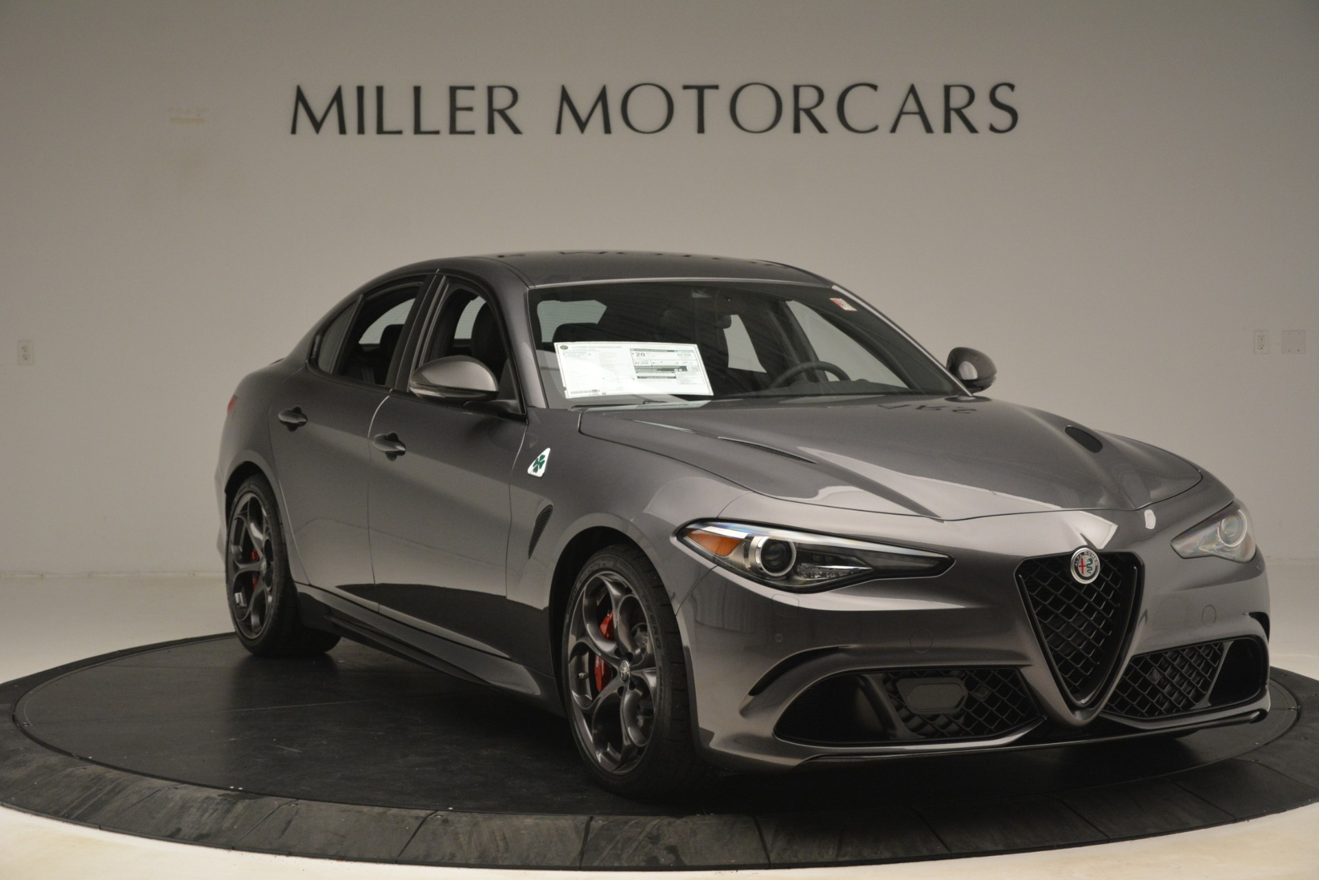 New 2019 Alfa Romeo Giulia Quadrifoglio For Sale In Westport, CT 3193_p11