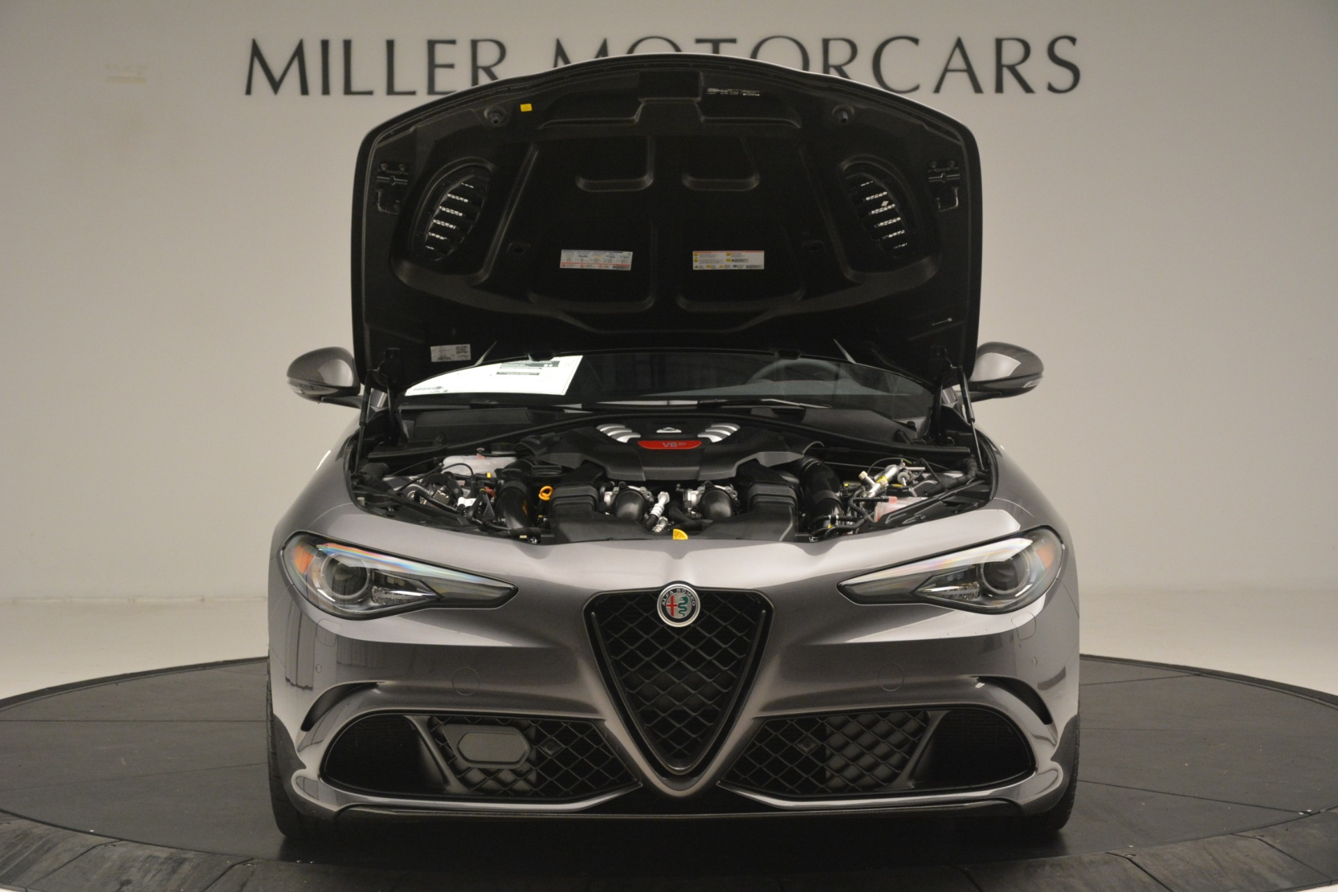 New 2019 Alfa Romeo Giulia Quadrifoglio For Sale In Westport, CT 3193_p13