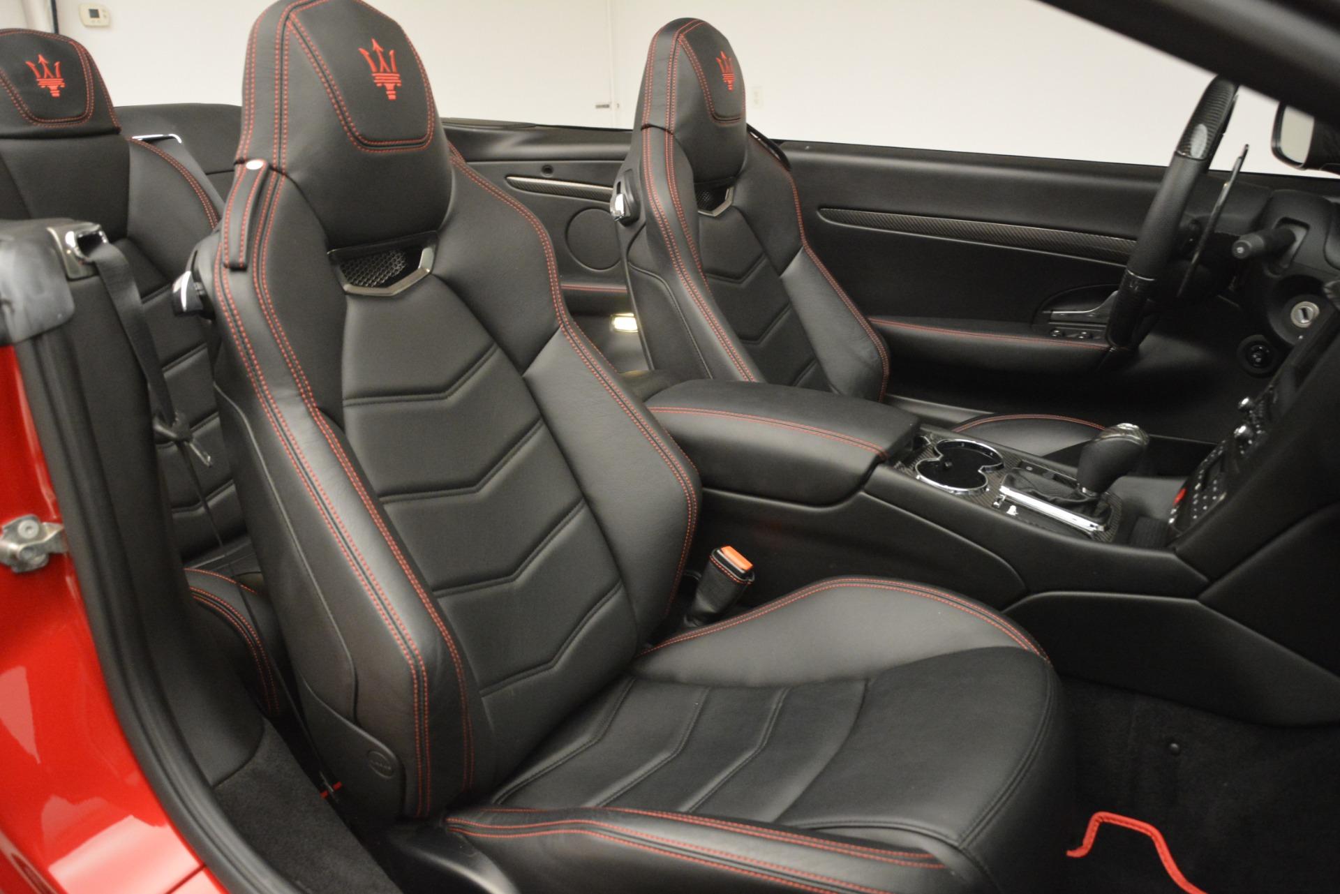 Used 2015 Maserati GranTurismo MC For Sale In Westport, CT 3197_p27
