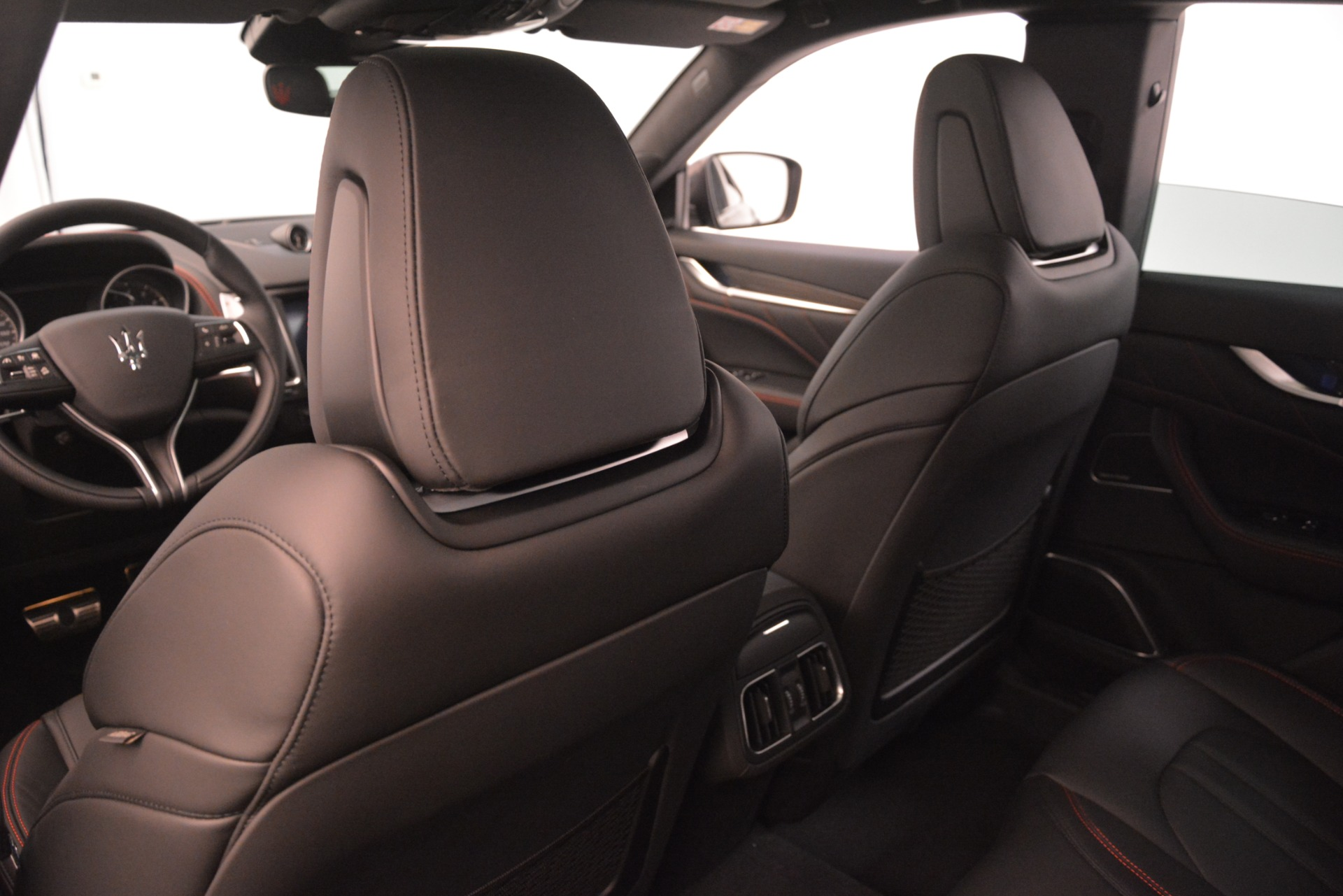 New 2019 Maserati Levante SQ4 GranSport Nerissimo For Sale In Westport, CT 3199_p20