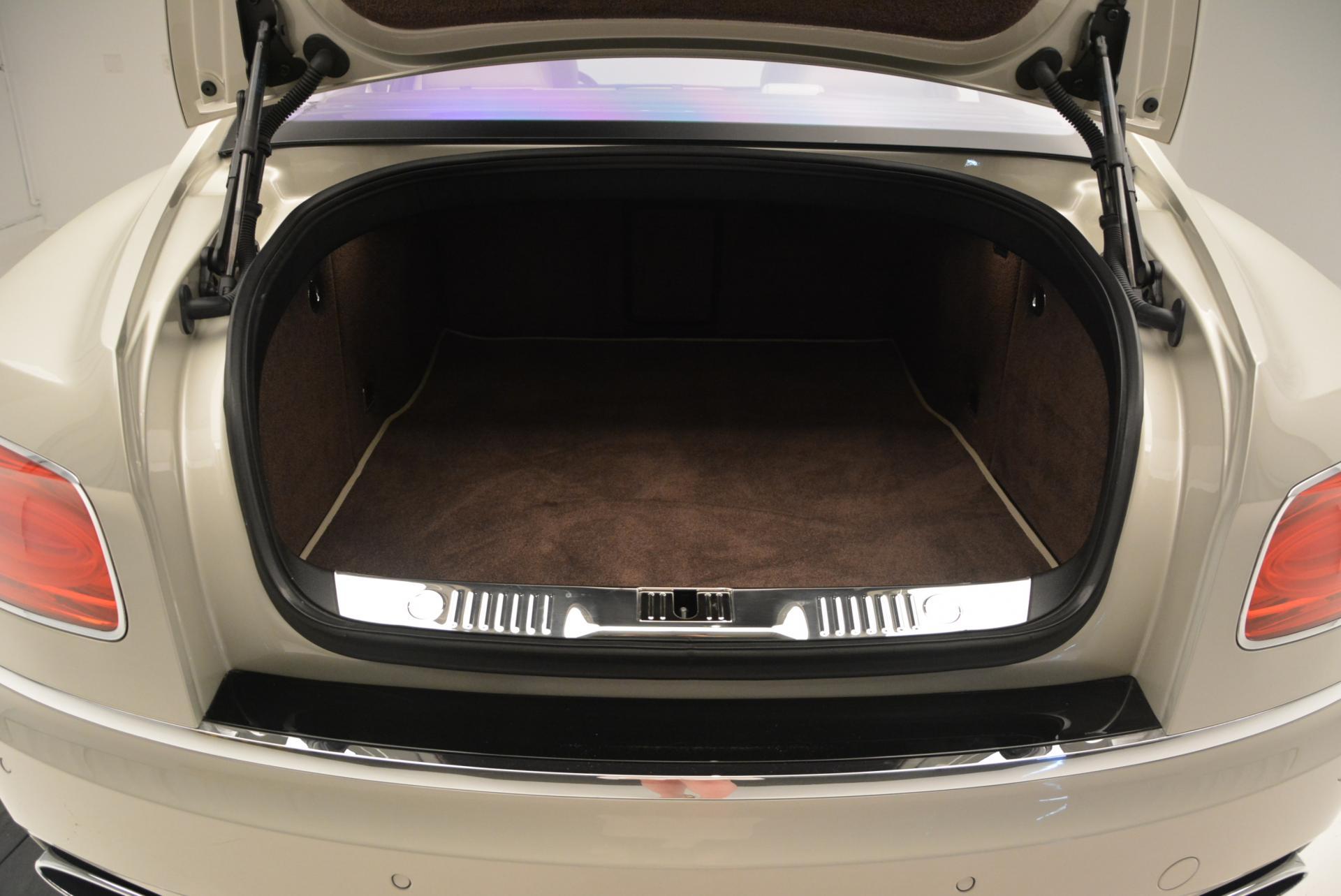 Used 2016 Bentley Flying Spur W12 For Sale In Westport, CT 32_p38