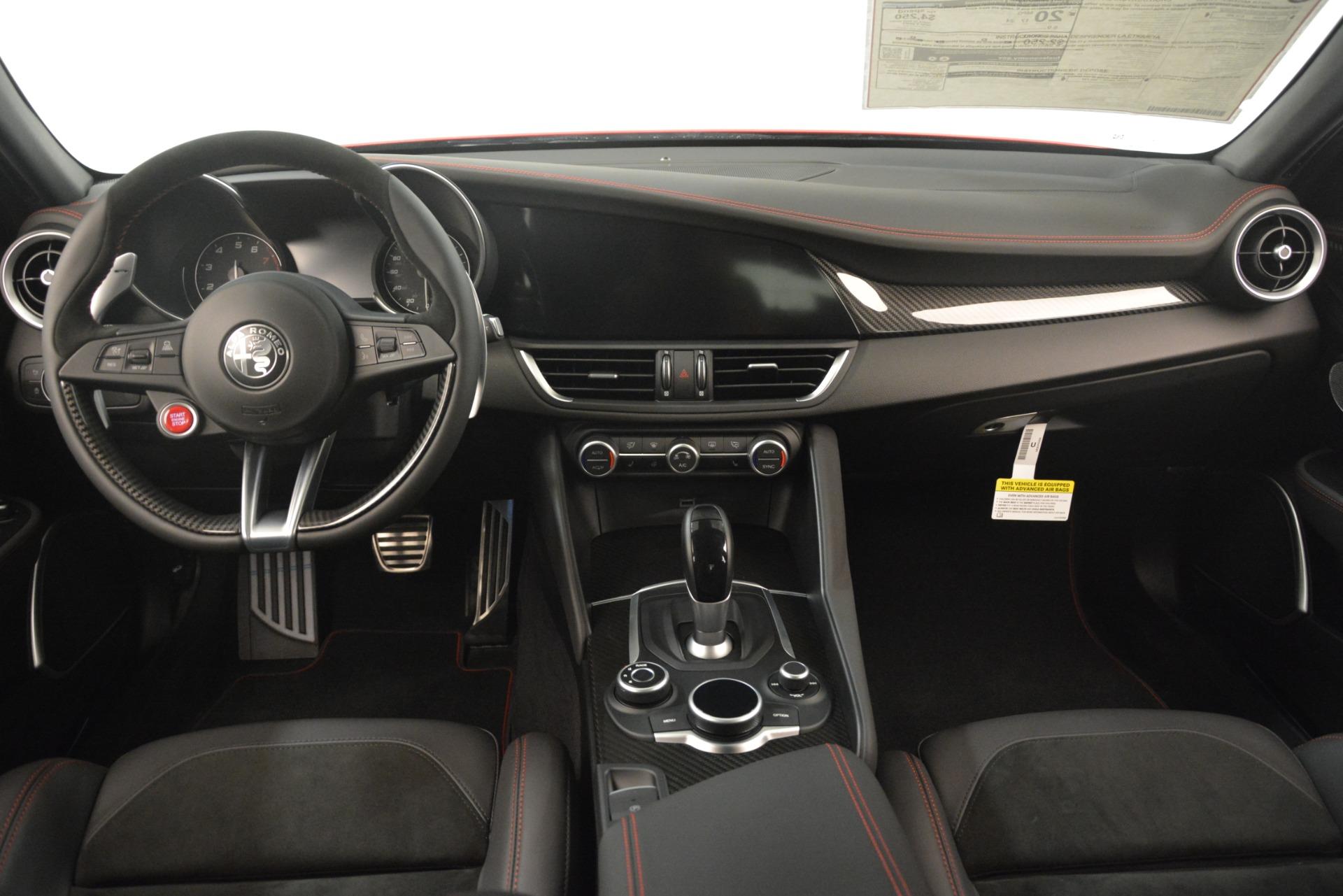 New 2019 Alfa Romeo Giulia Quadrifoglio For Sale In Westport, CT 3208_p17