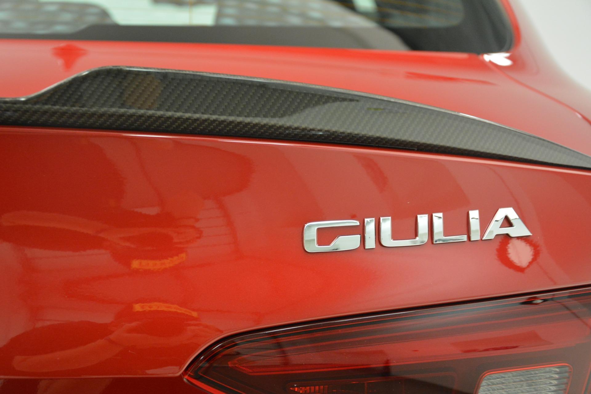 New 2019 Alfa Romeo Giulia Quadrifoglio For Sale In Westport, CT 3208_p32