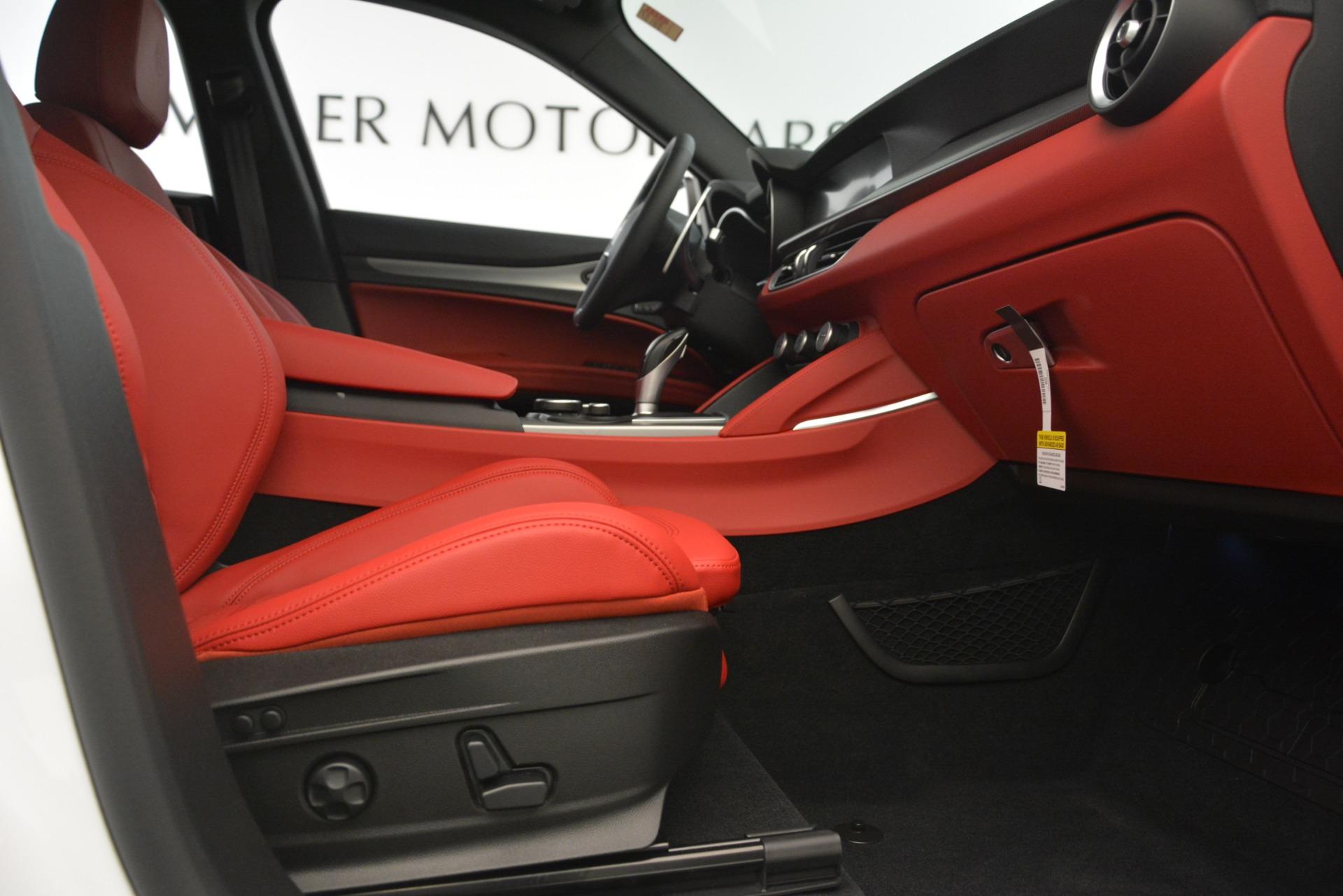 New 2019 Alfa Romeo Stelvio Ti Sport Q4 For Sale In Westport, CT 3209_p23