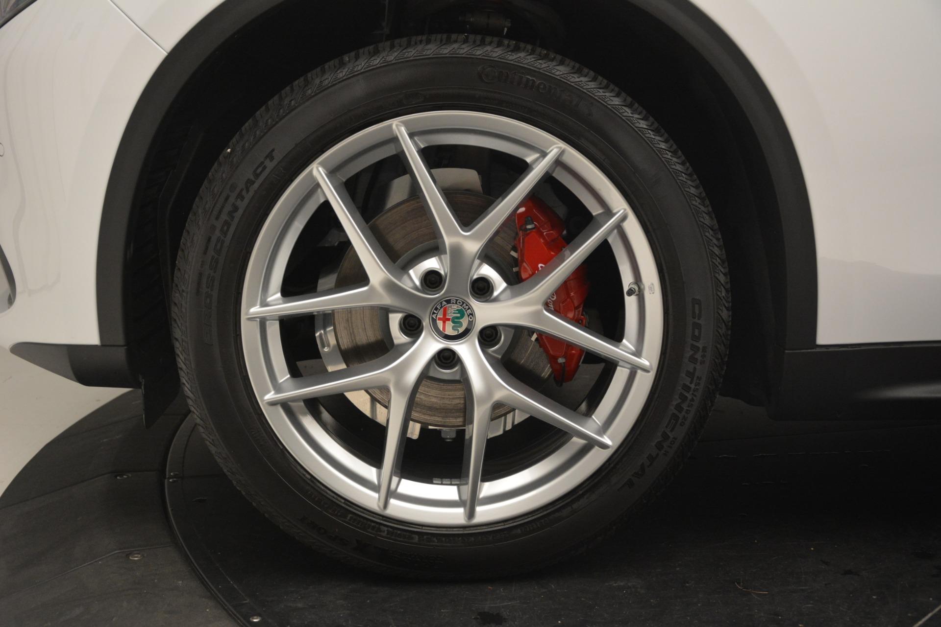 New 2019 Alfa Romeo Stelvio Ti Sport Q4 For Sale In Westport, CT 3209_p30