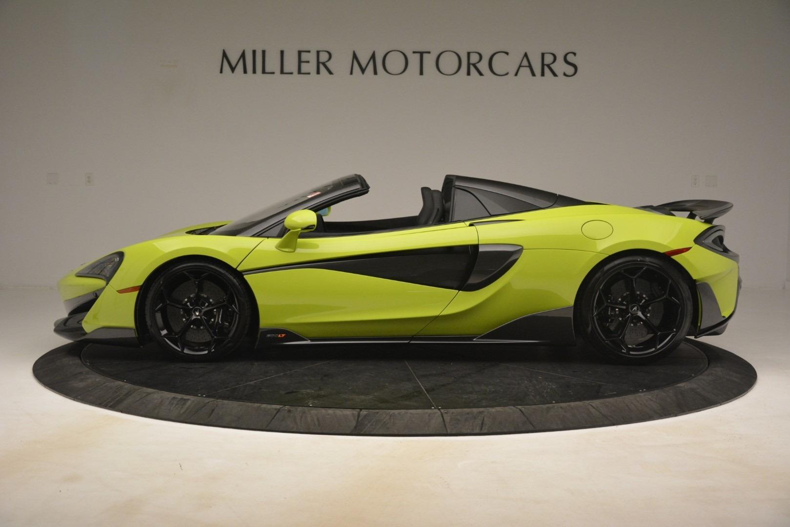 New 2020 McLaren 600LT Spider Convertible For Sale In Westport, CT 3213_p10
