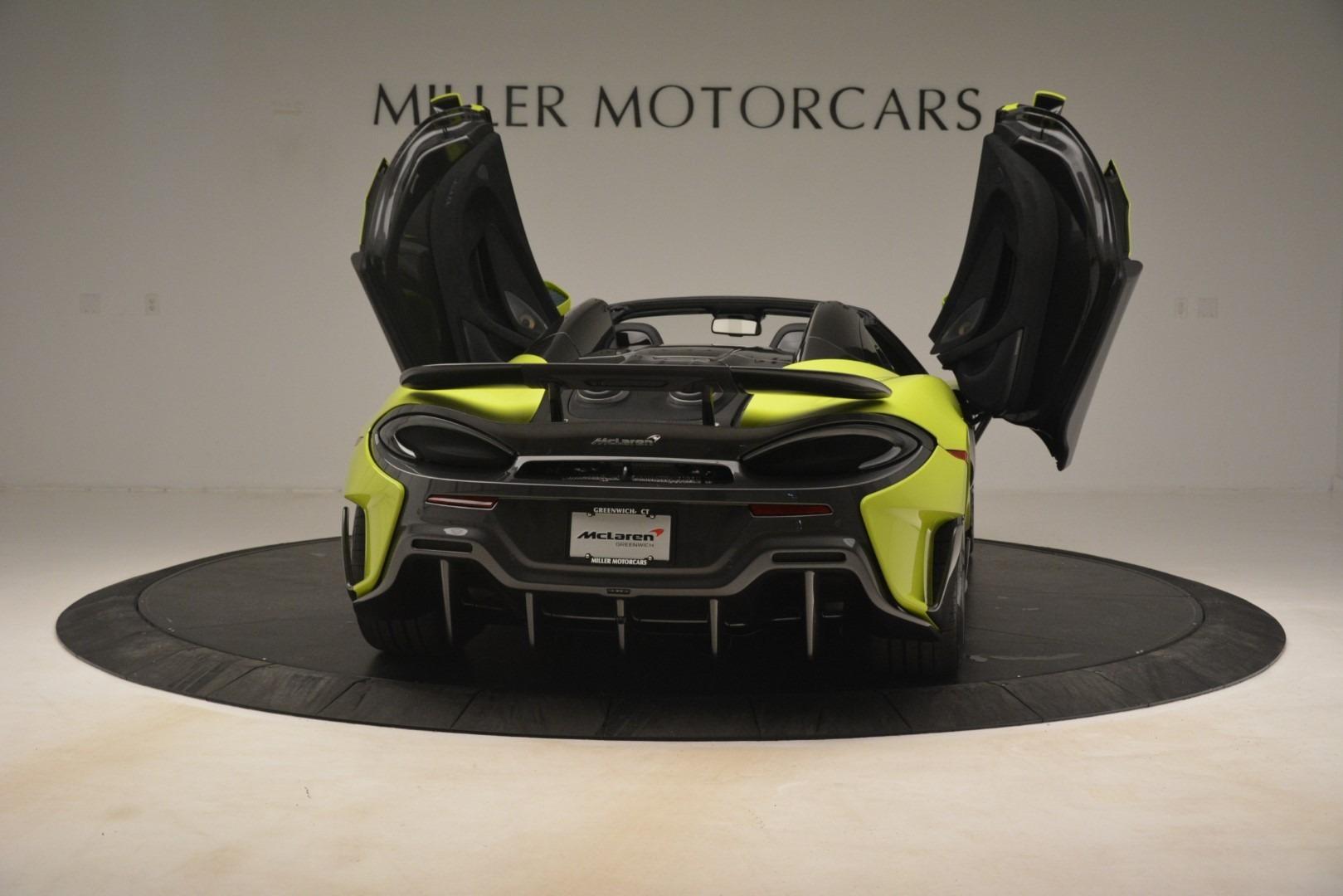 New 2020 McLaren 600LT Spider Convertible For Sale In Westport, CT 3213_p22