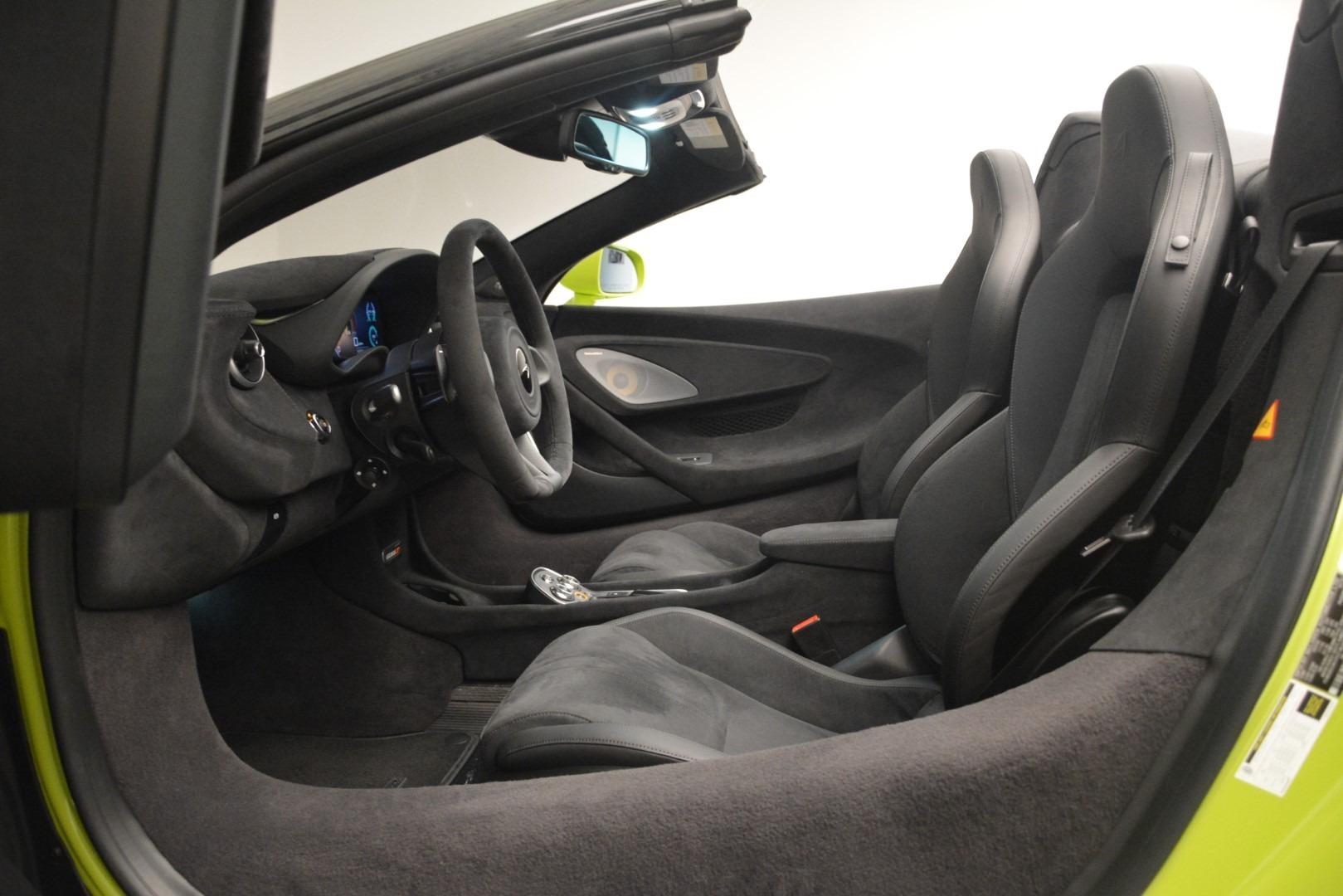 New 2020 McLaren 600LT Spider Convertible For Sale In Westport, CT 3213_p30