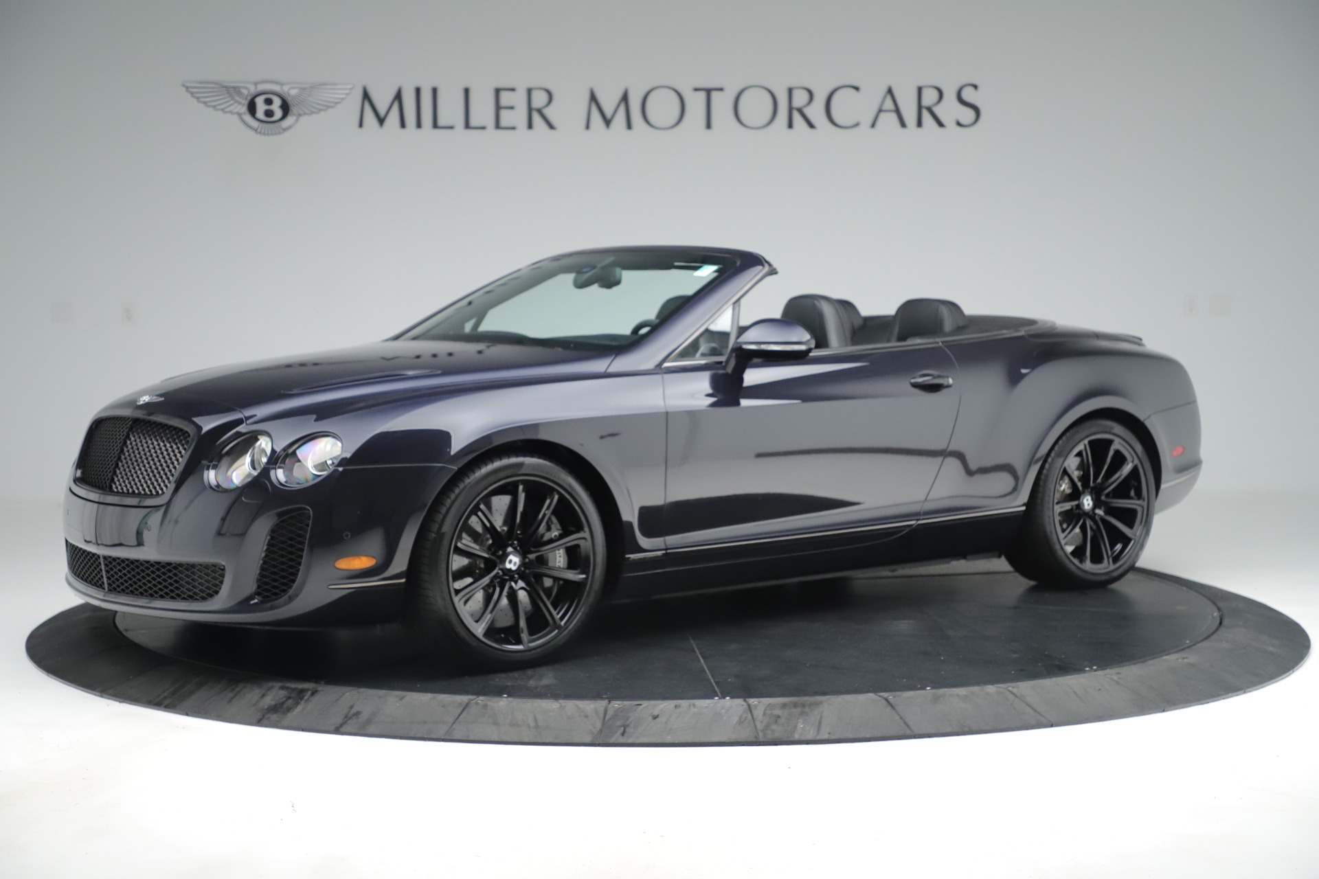 Used 2012 Bentley Continental GT Supersports For Sale In Westport, CT 3214_p2