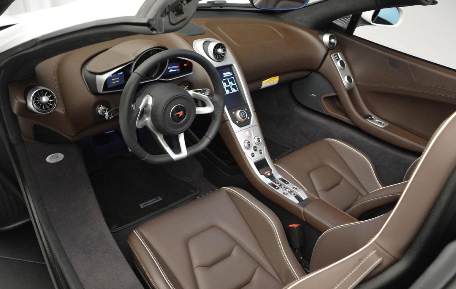 Used 2015 McLaren 650S Spider Convertible For Sale In Westport, CT 3219_p17