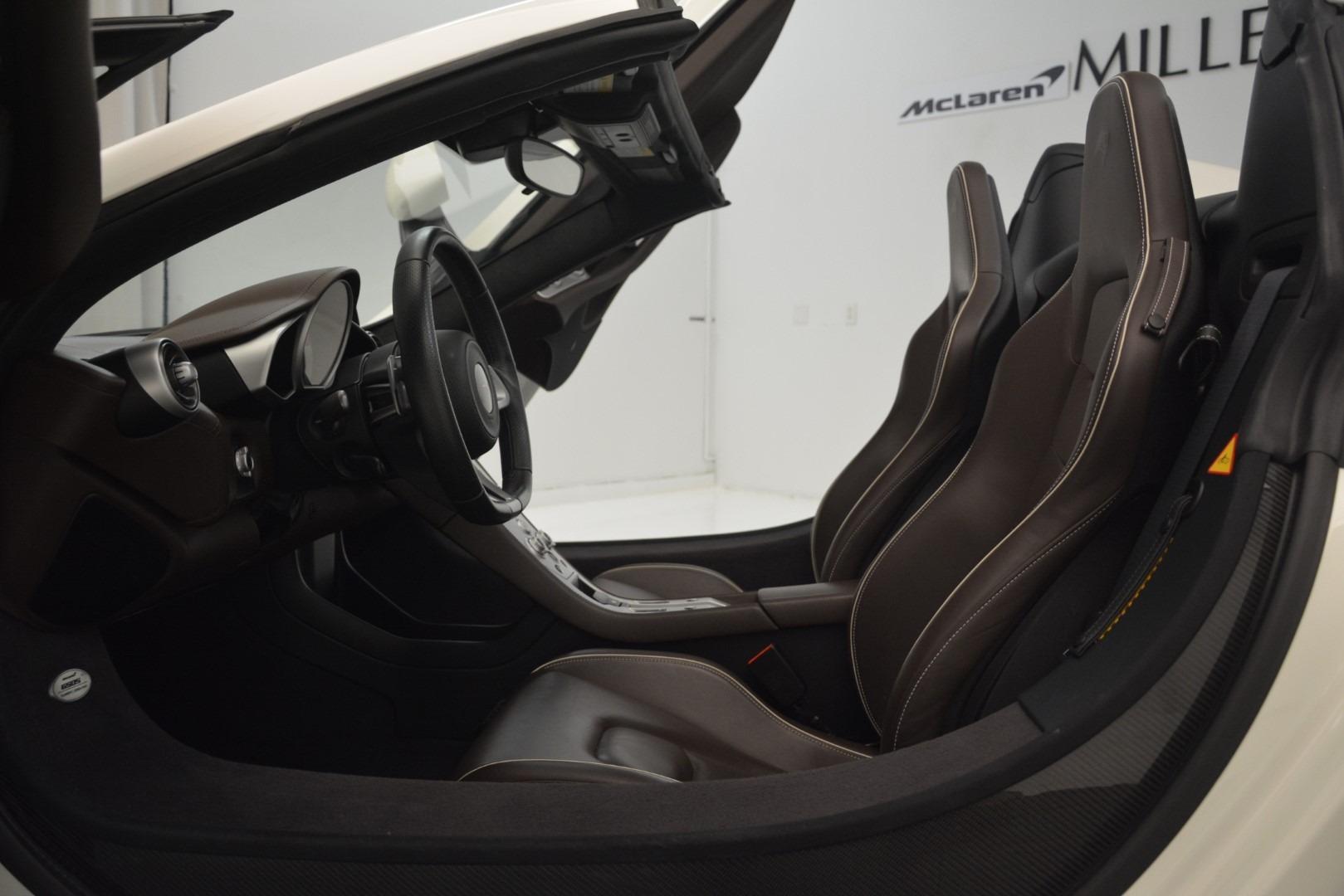 Used 2015 McLaren 650S Spider Convertible For Sale In Westport, CT 3219_p21