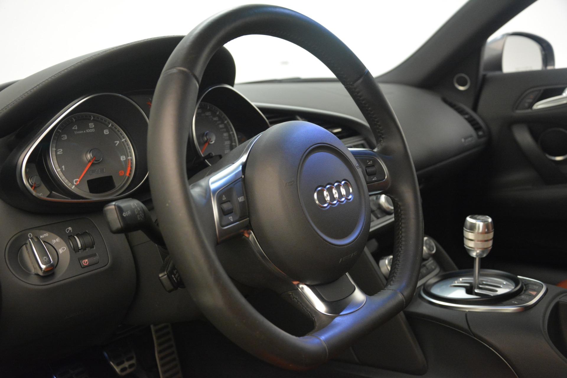 Used 2009 Audi R8 quattro For Sale In Westport, CT 3228_p20