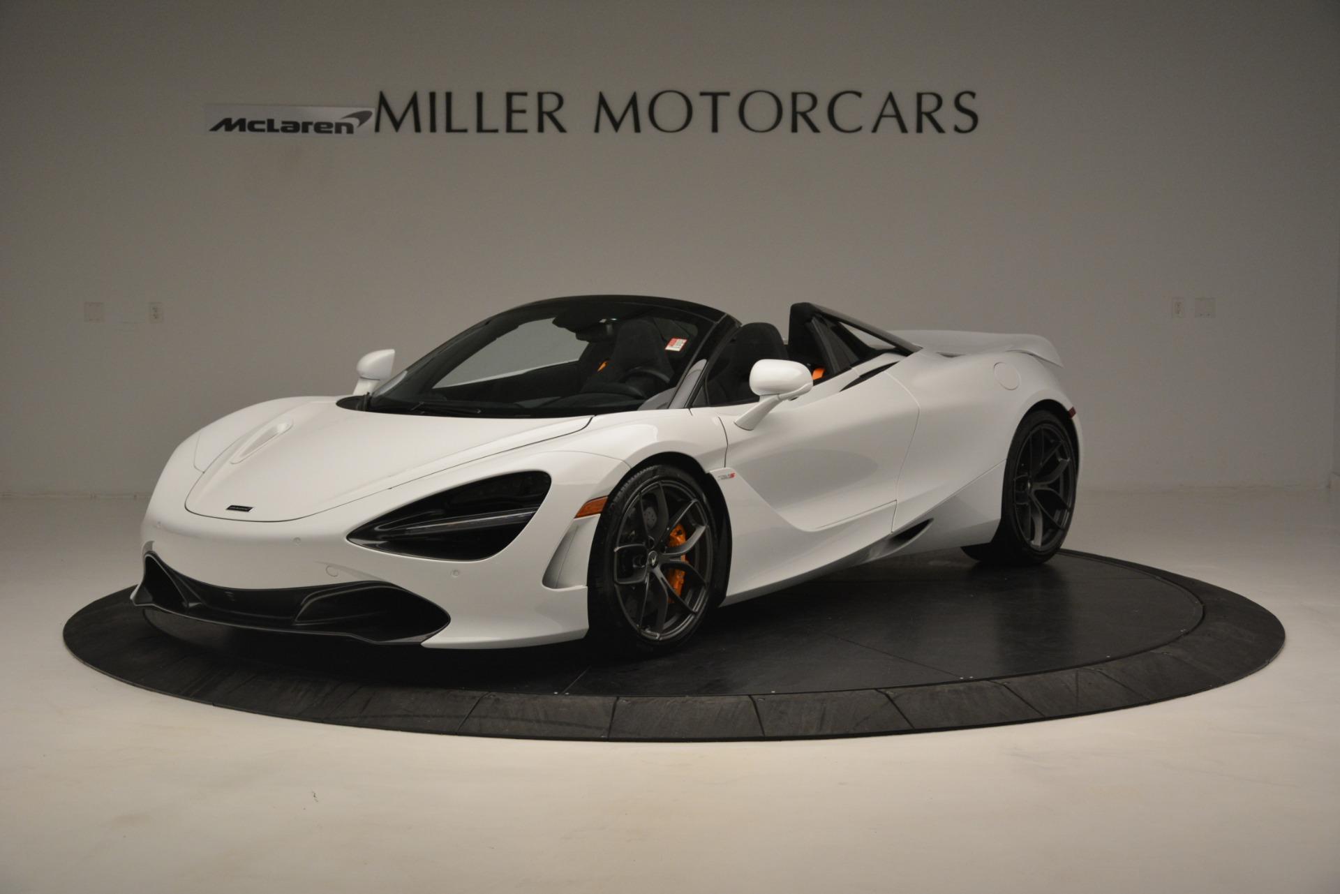 New 2020 McLaren 720S Spider Convertible For Sale In Westport, CT 3229_main