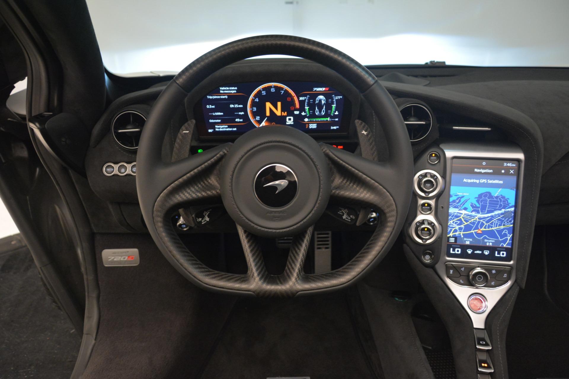 New 2020 McLaren 720S Spider Convertible For Sale In Westport, CT 3229_p28