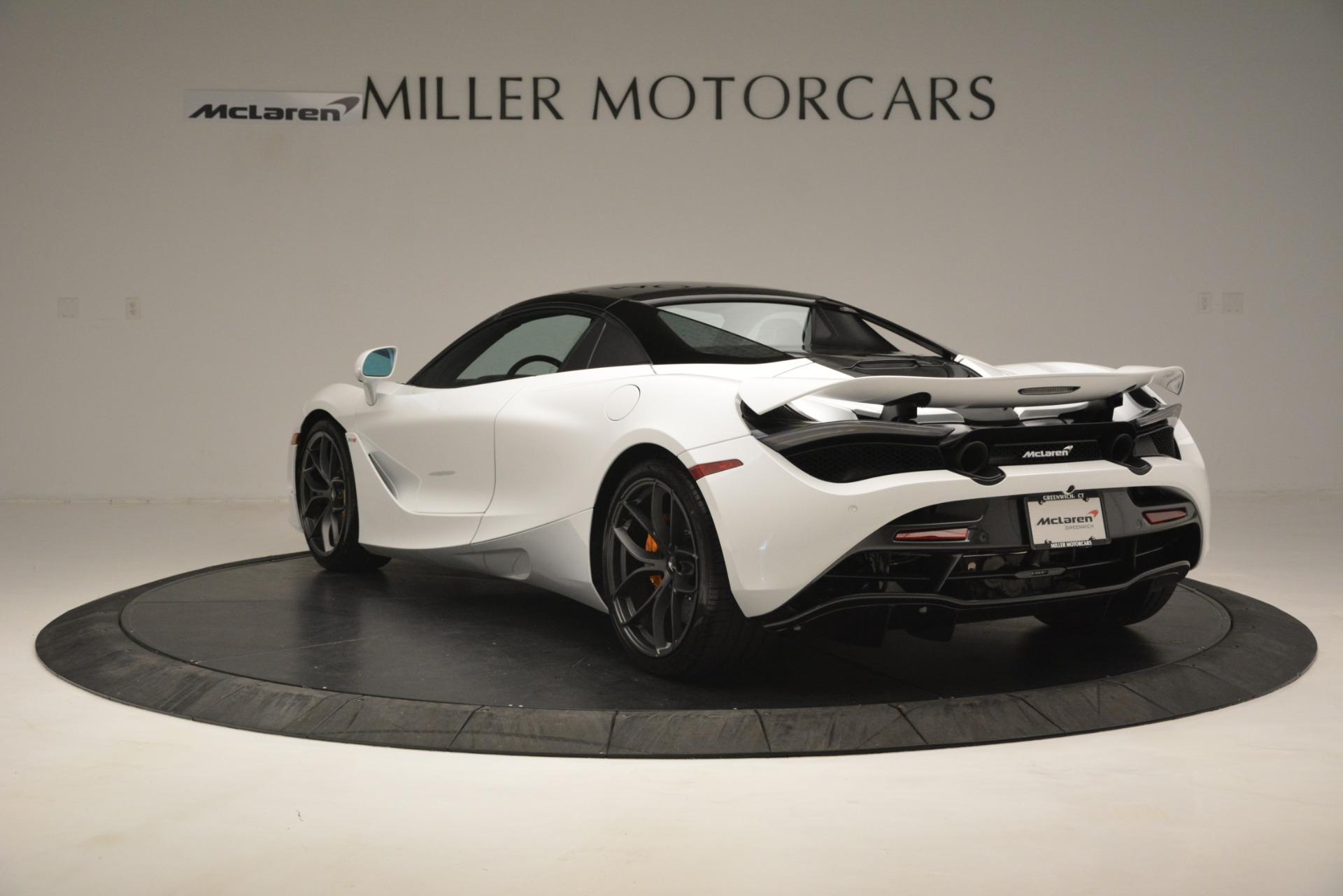 New 2020 McLaren 720S Spider Convertible For Sale In Westport, CT 3229_p4