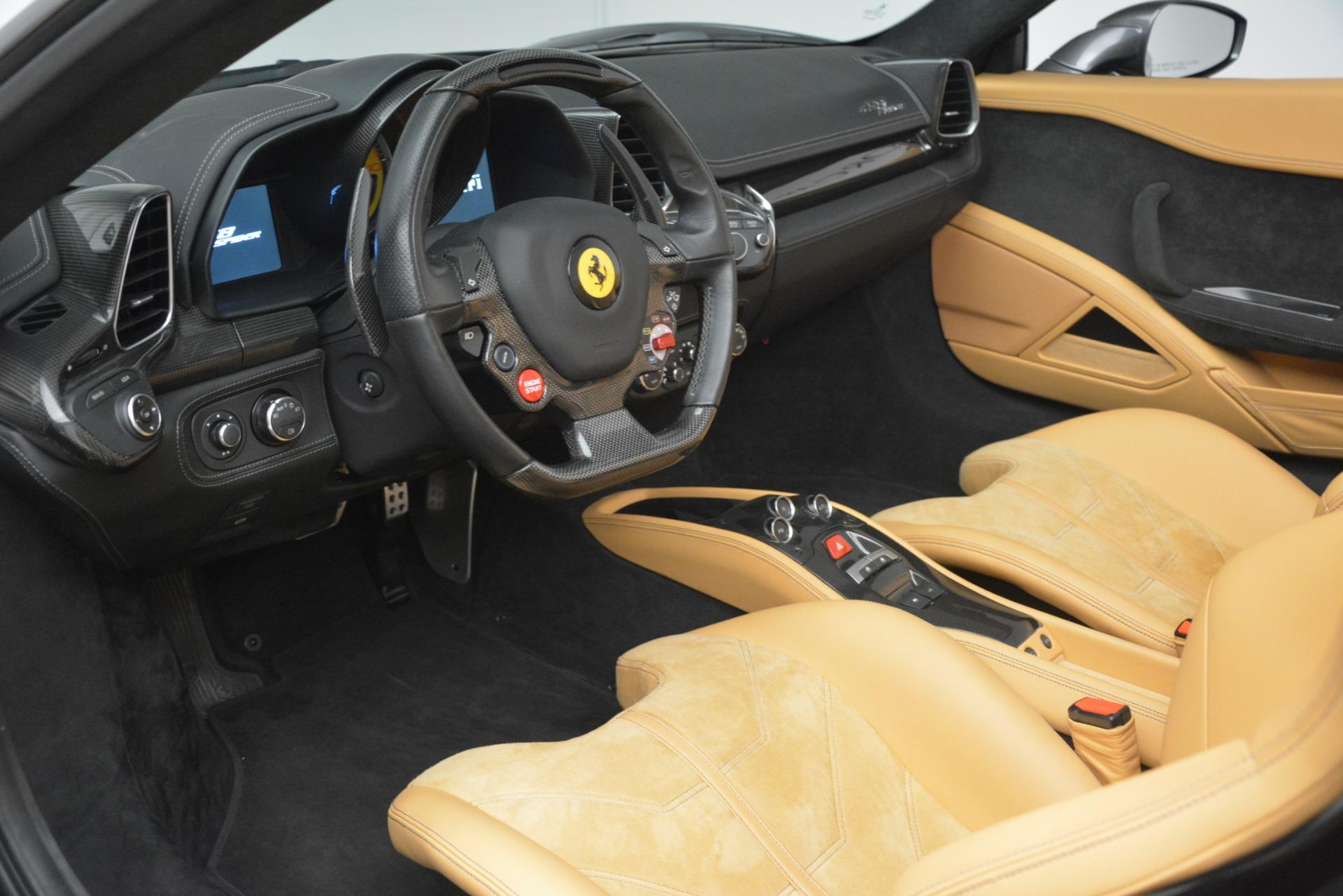 Used 2013 Ferrari 458 Spider  For Sale In Westport, CT 3232_p17