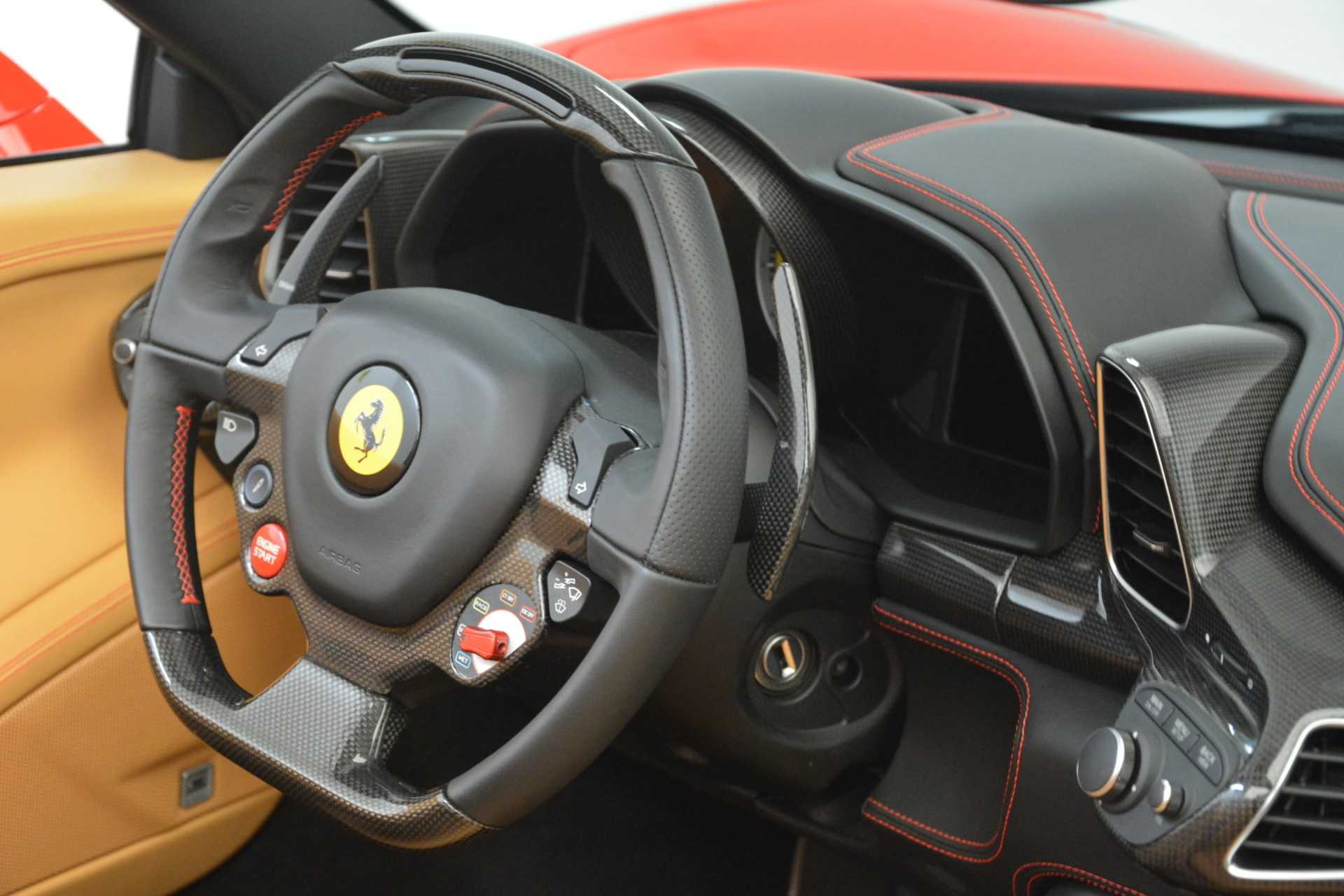 Used 2015 Ferrari 458 Spider  For Sale In Westport, CT 3233_p29