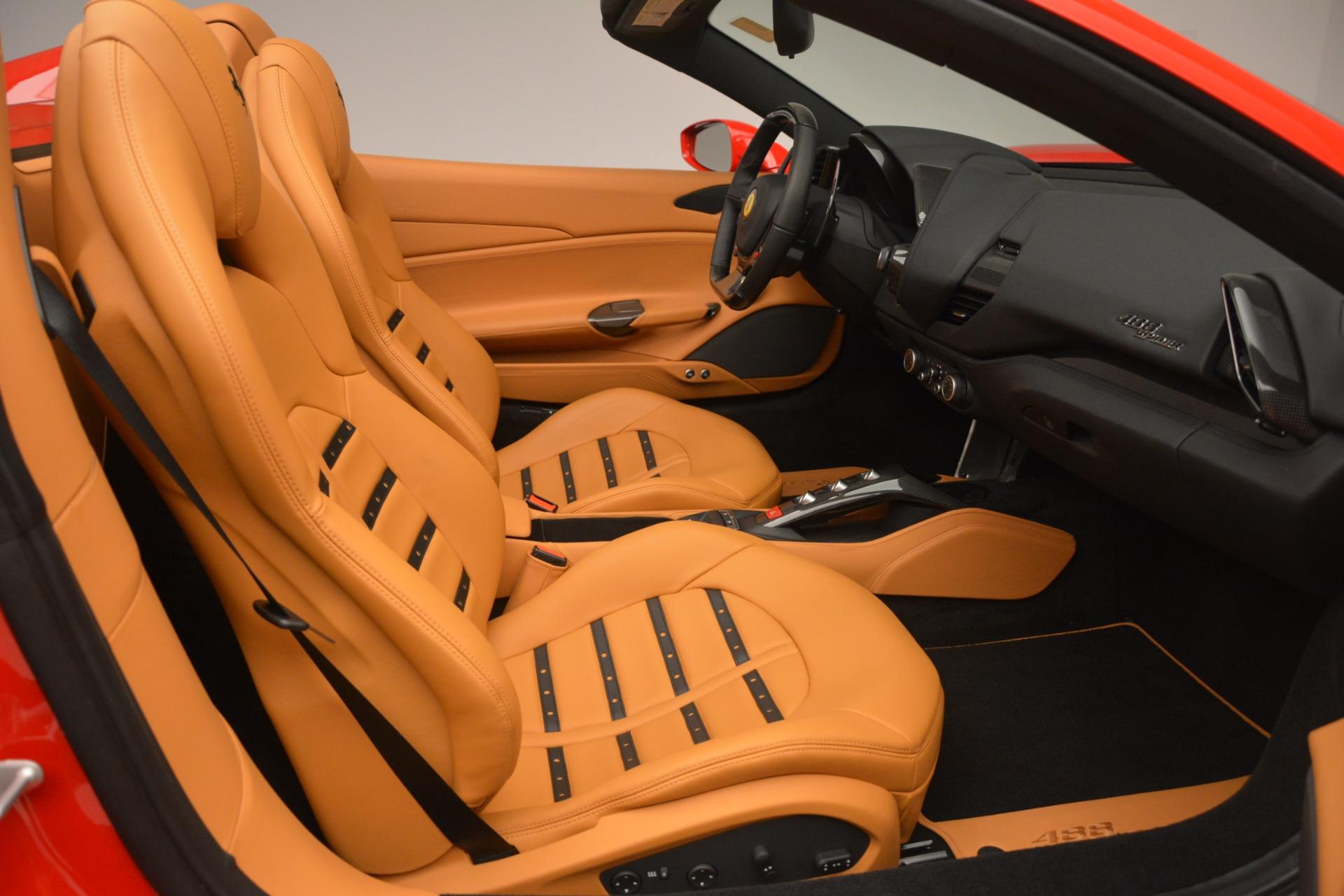 Used 2018 Ferrari 488 Spider  For Sale In Westport, CT 3234_p24