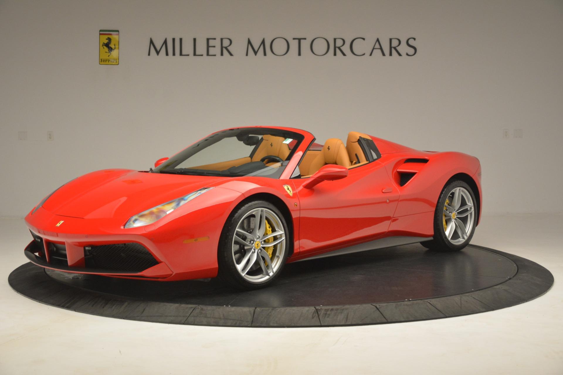 Used 2018 Ferrari 488 Spider  For Sale In Westport, CT 3234_p2