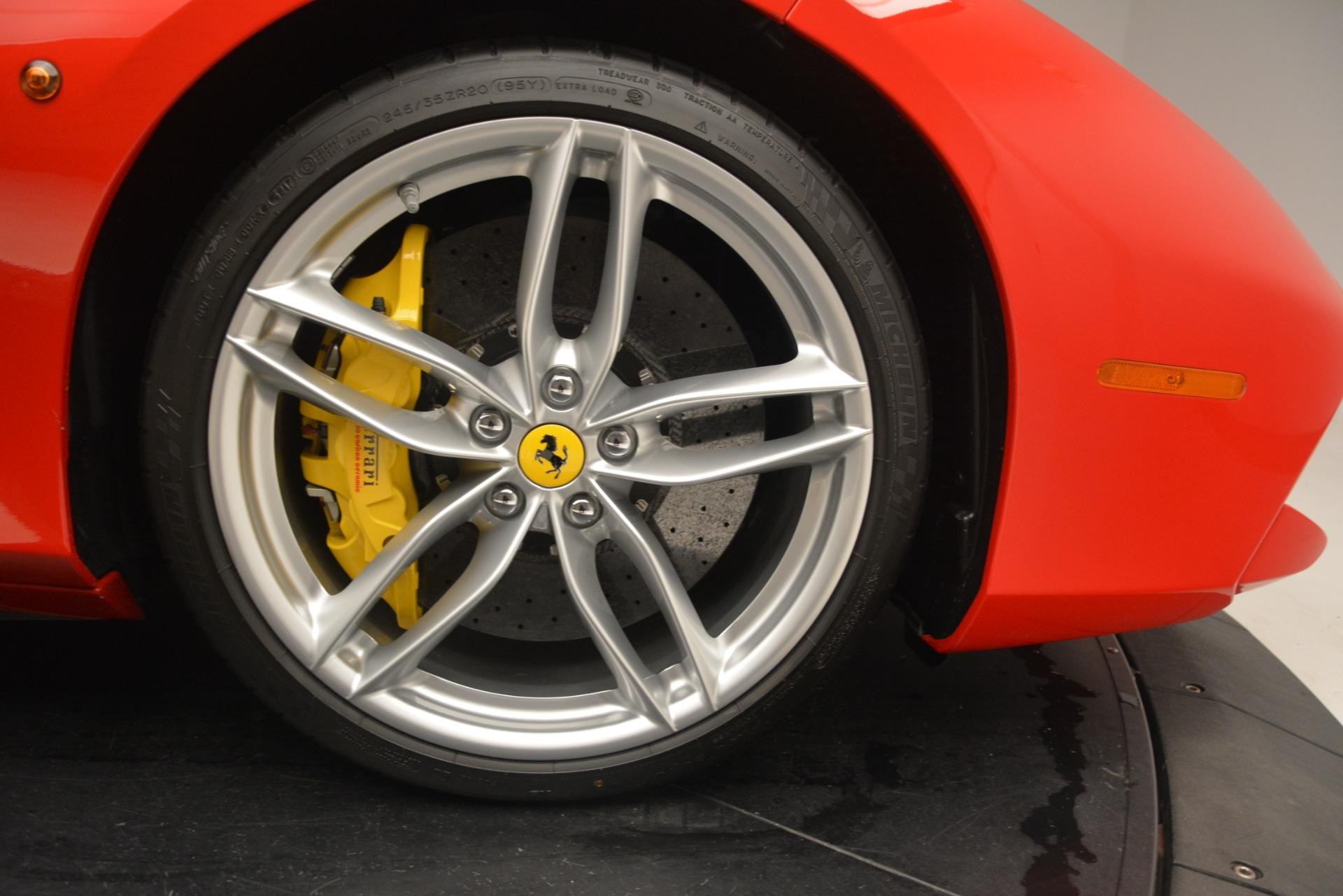 Used 2018 Ferrari 488 Spider  For Sale In Westport, CT 3234_p30