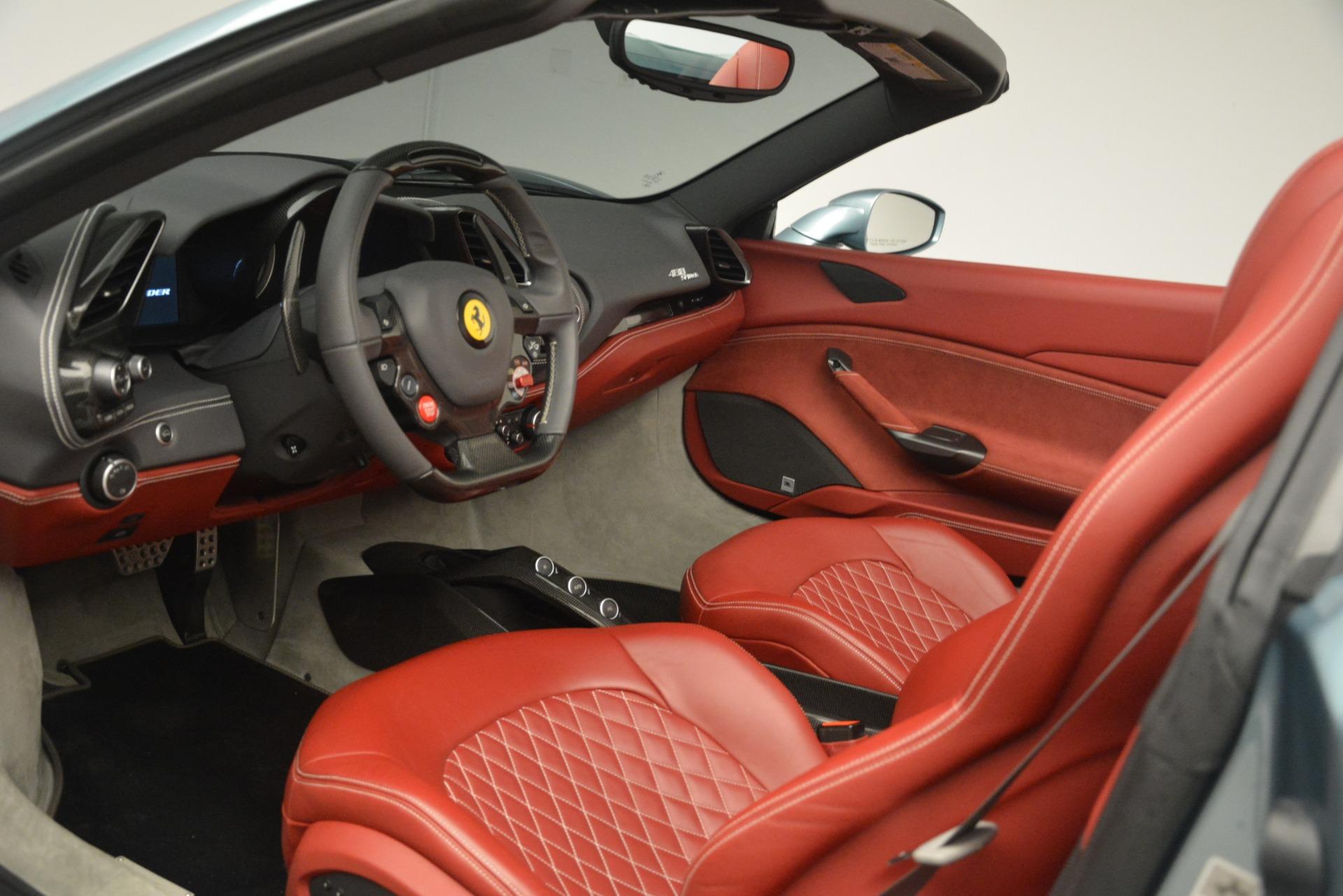 Used 2017 Ferrari 488 Spider  For Sale In Westport, CT 3237_p18