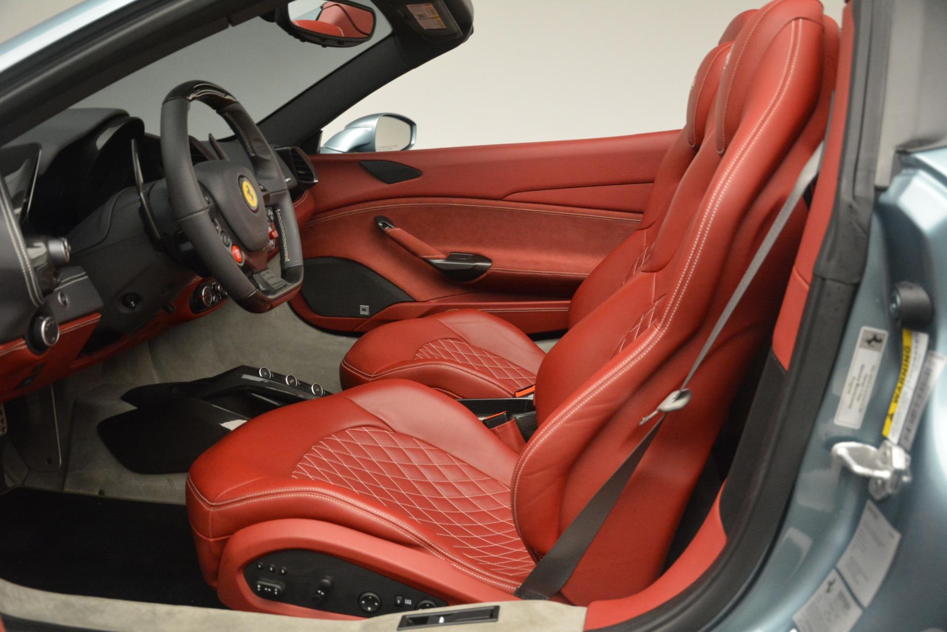 Used 2017 Ferrari 488 Spider  For Sale In Westport, CT 3237_p19