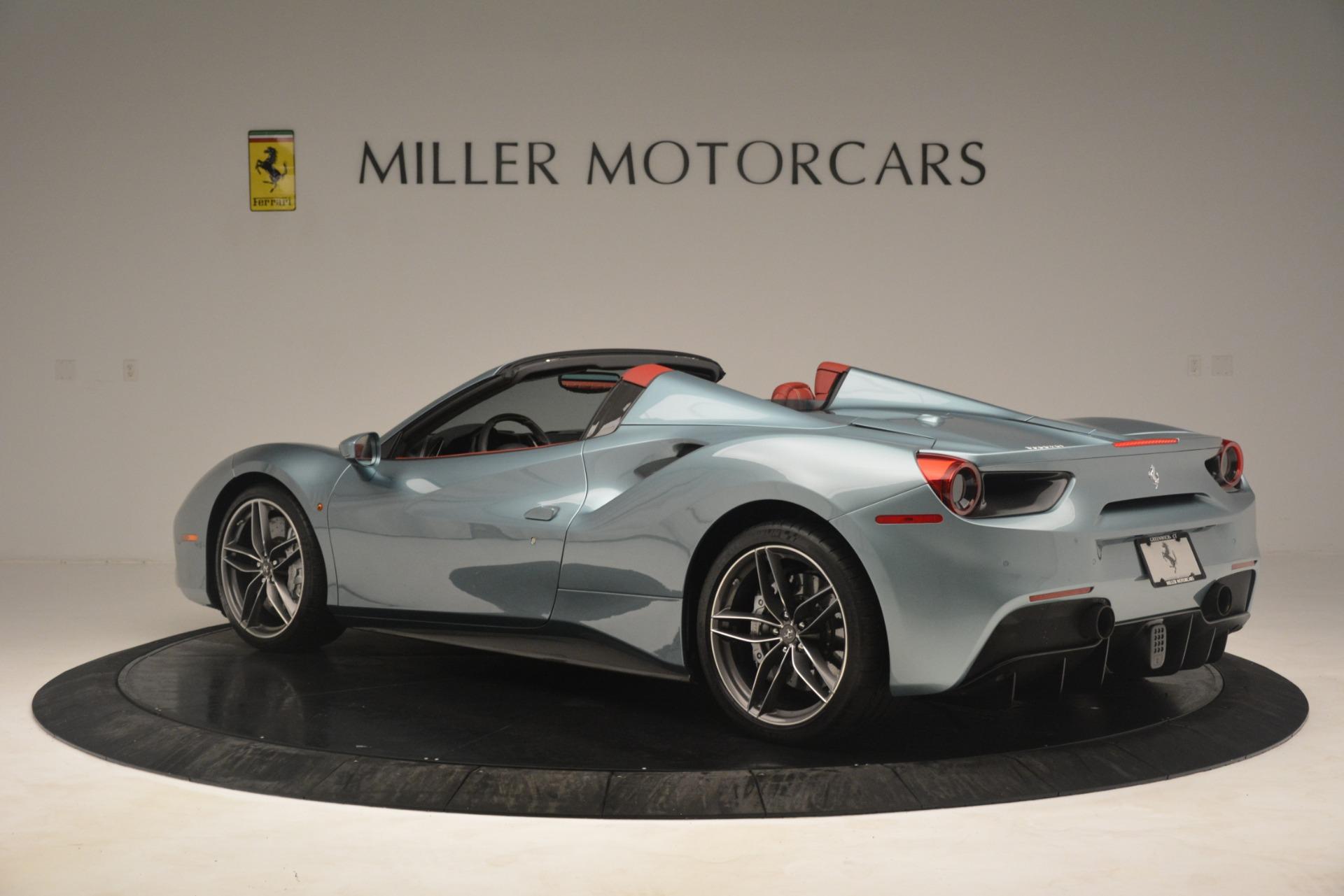 Used 2017 Ferrari 488 Spider  For Sale In Westport, CT 3237_p4
