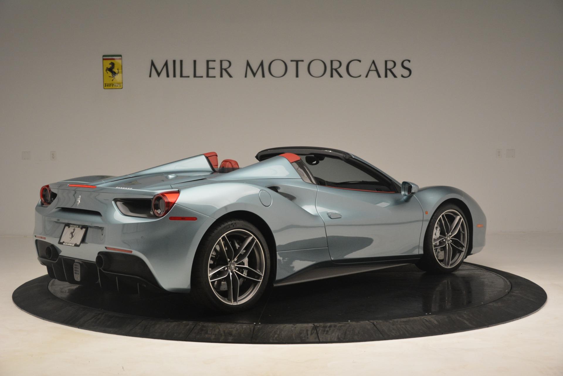 Used 2017 Ferrari 488 Spider  For Sale In Westport, CT 3237_p8